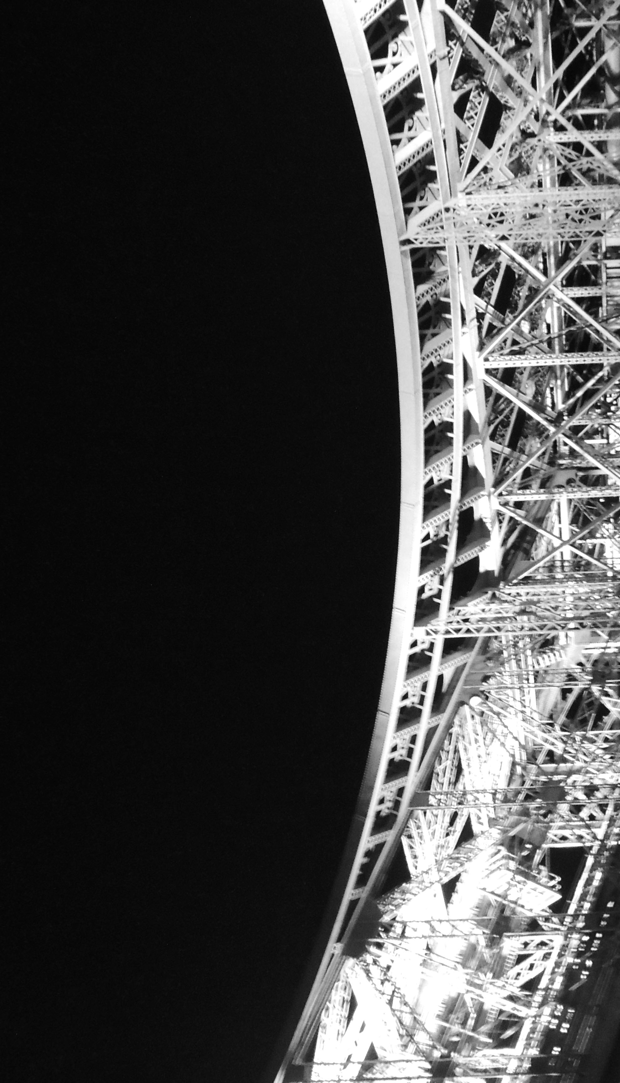 Abstract Eiffel Tower Photography