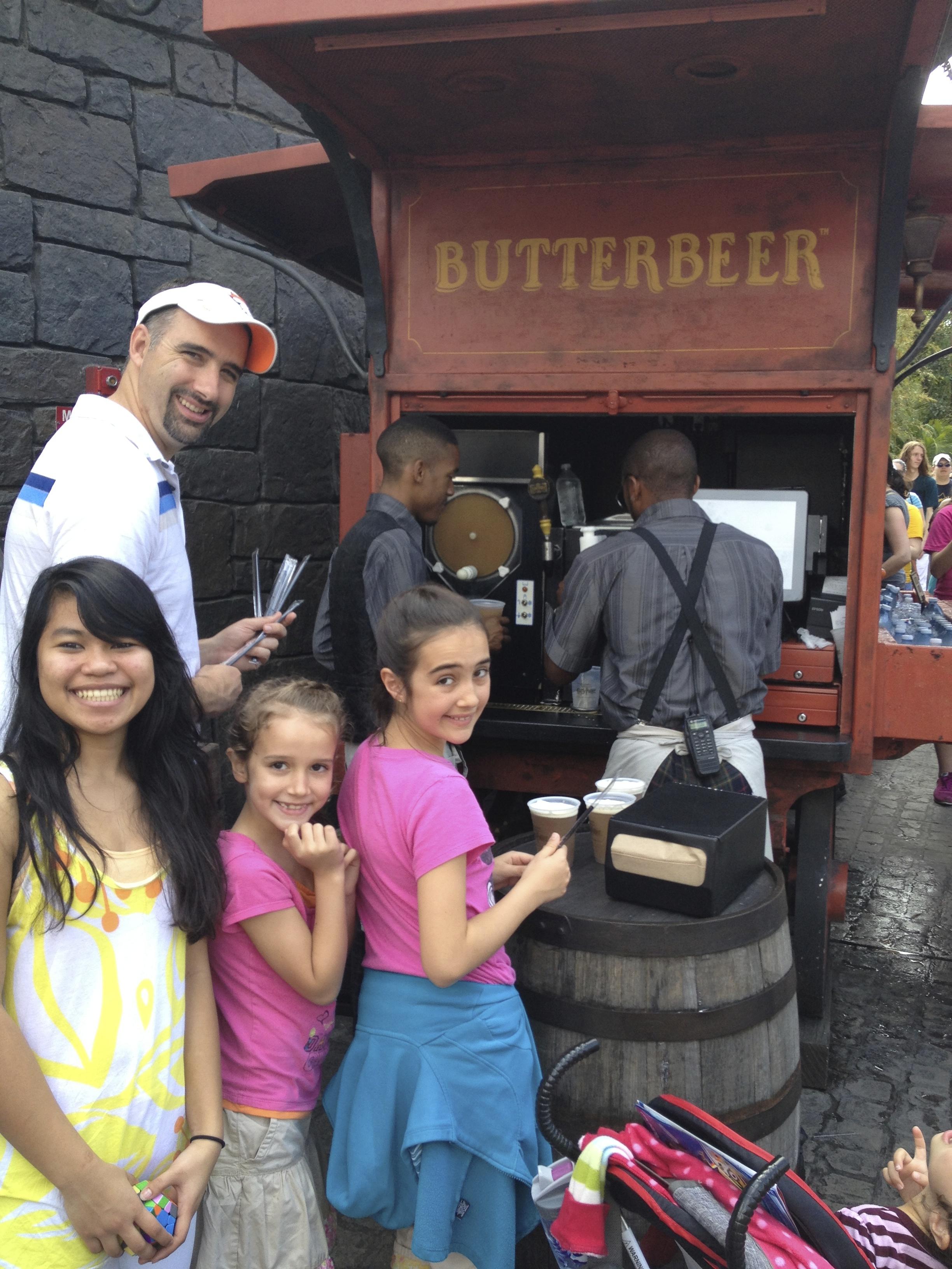 Butterbeer is delicious.