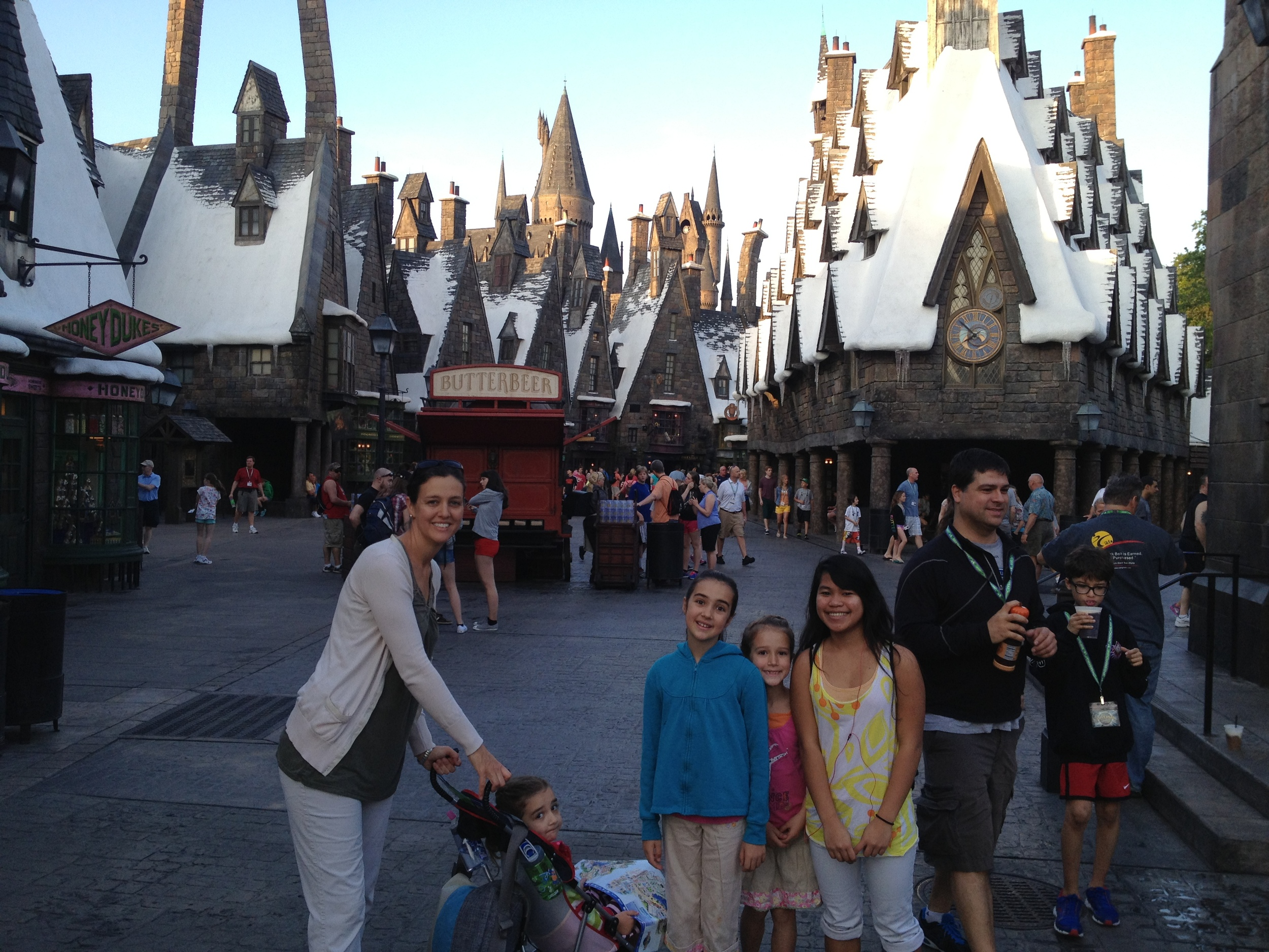 The Harry Potter area in Universal was very cool.