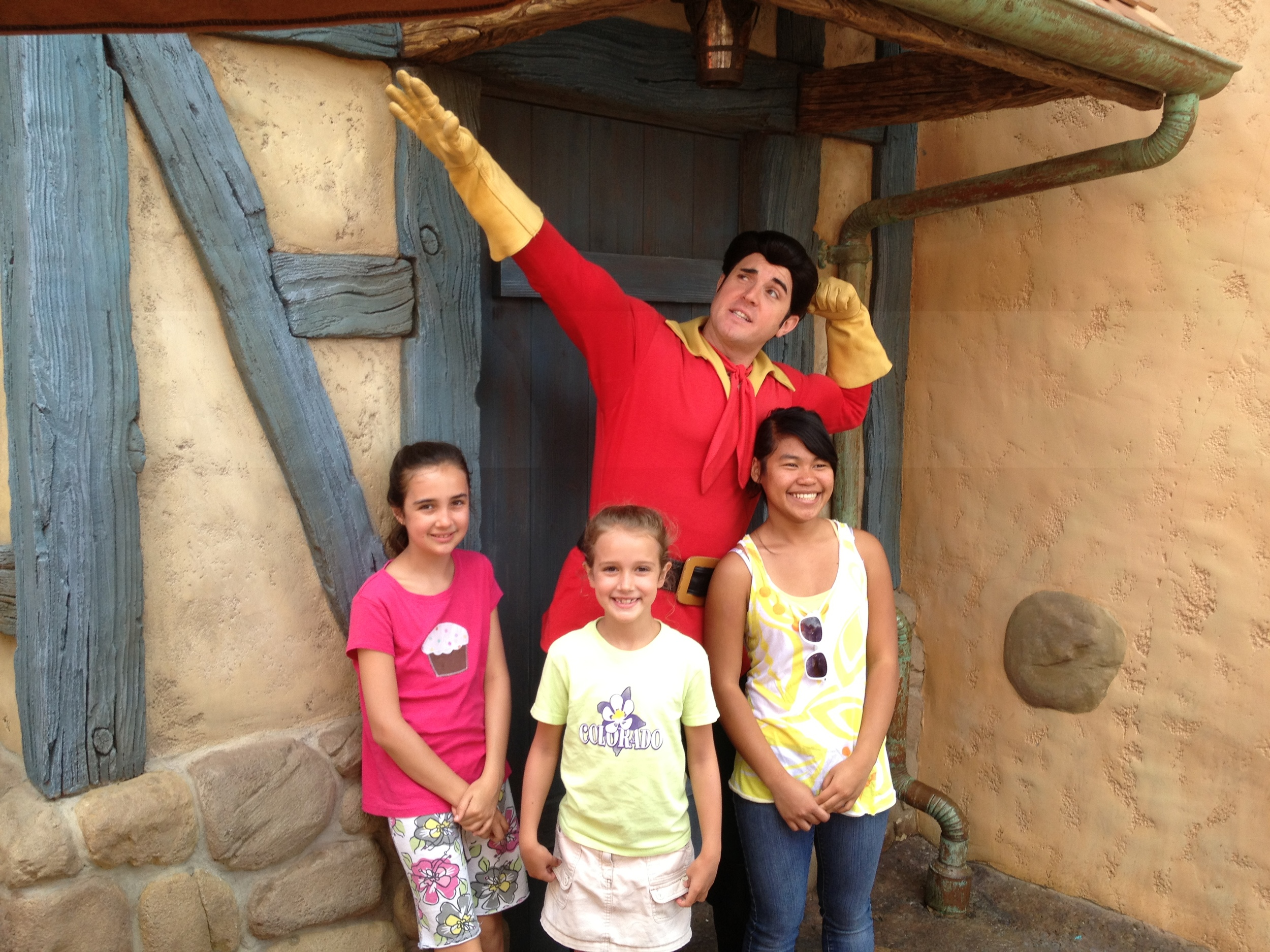 Gaston was as humble as ever.