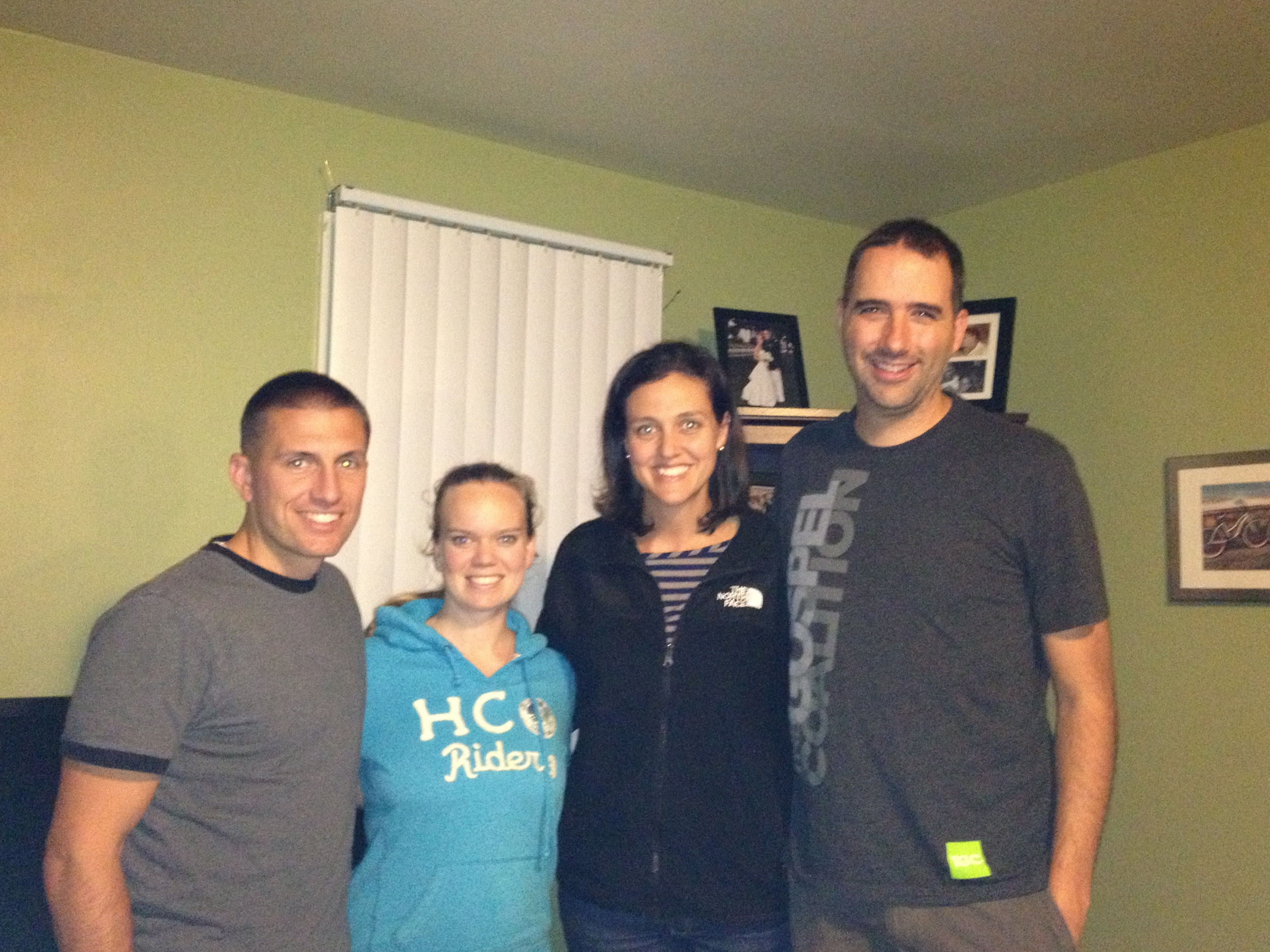 Visiting Steve and Abigail Haack in NC.