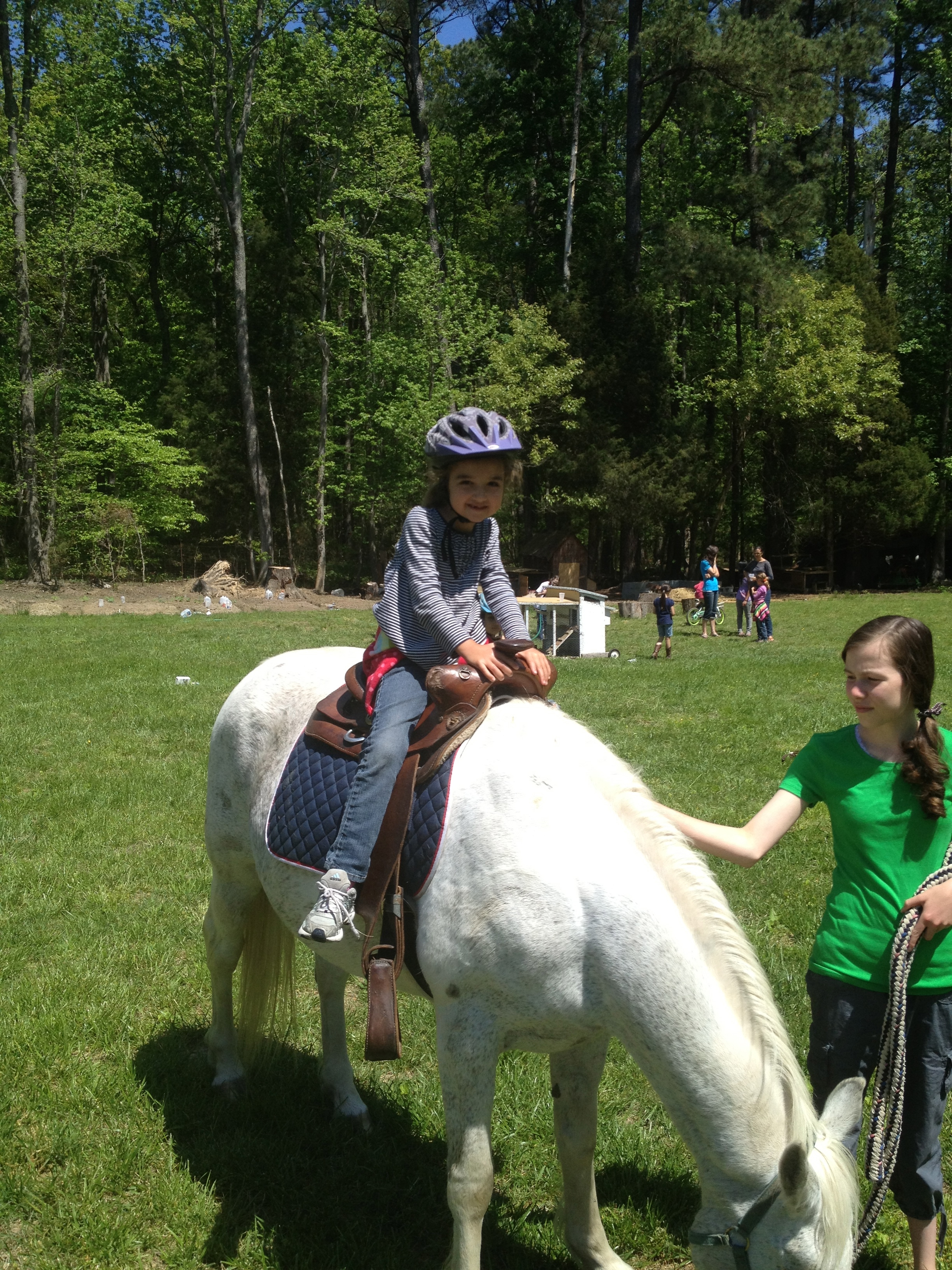 Riding the Migiliore's horse was a great memory.