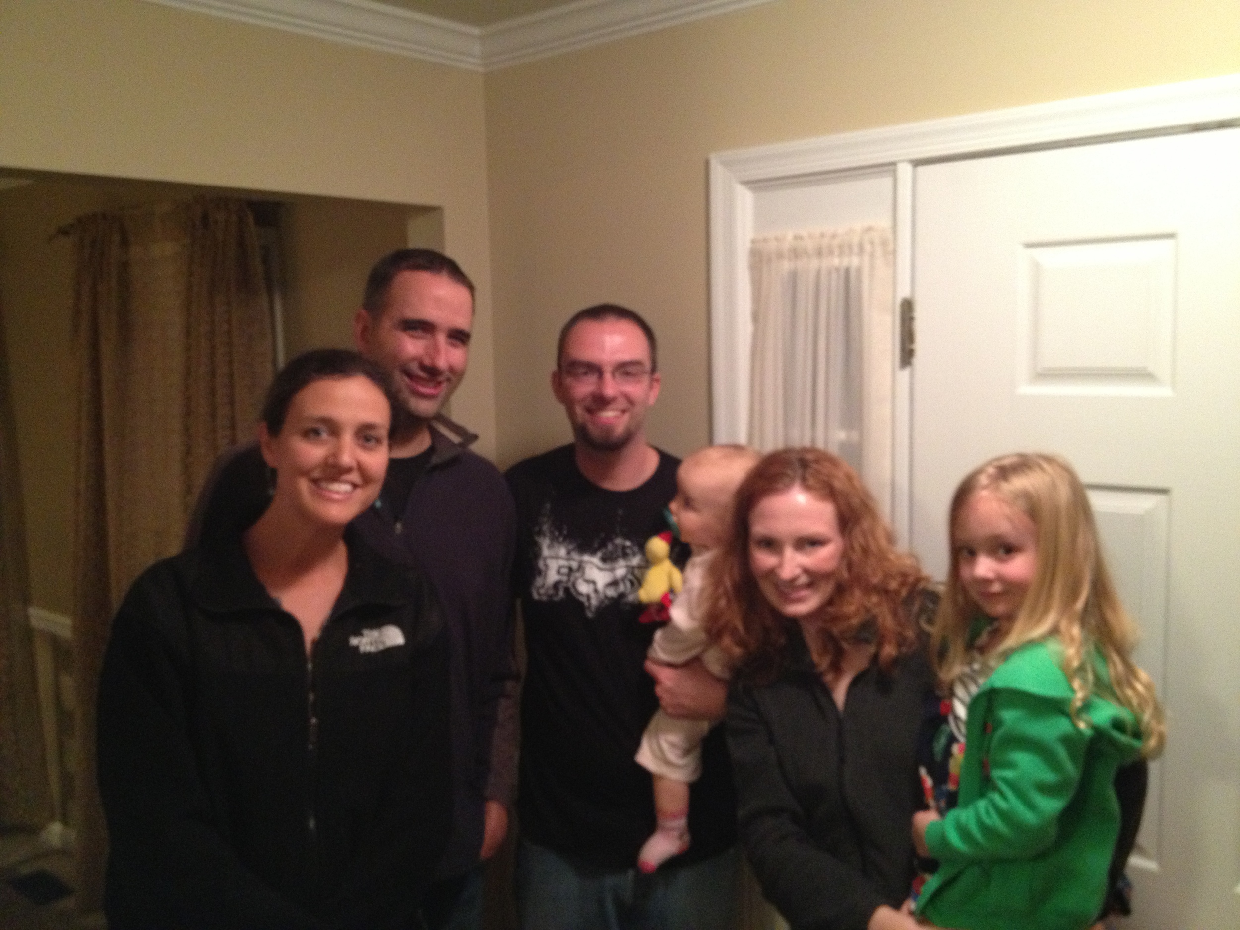 Visiting with Scott and Ali Blankenship in VA.