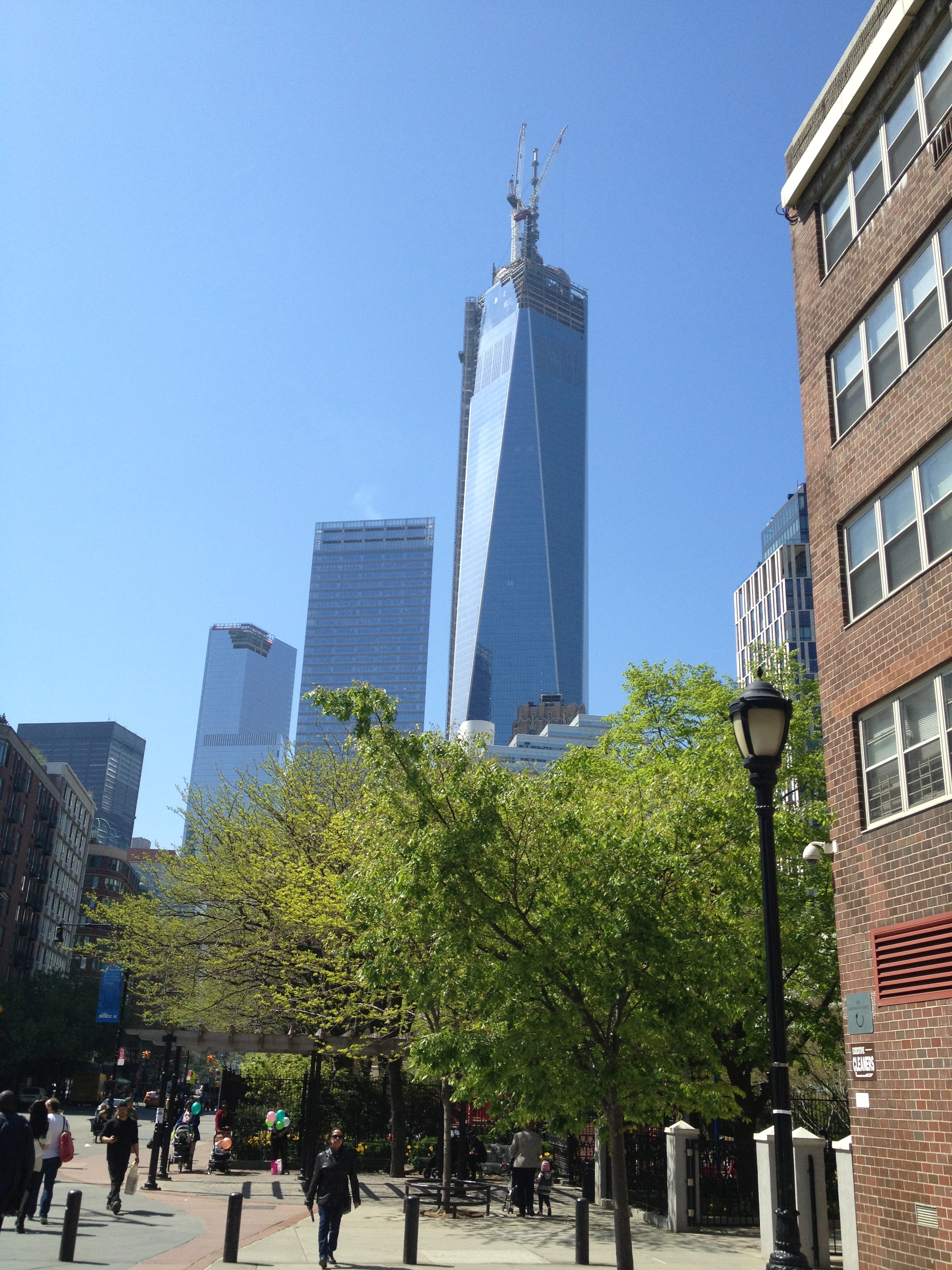 One World Trade Center in NYC.