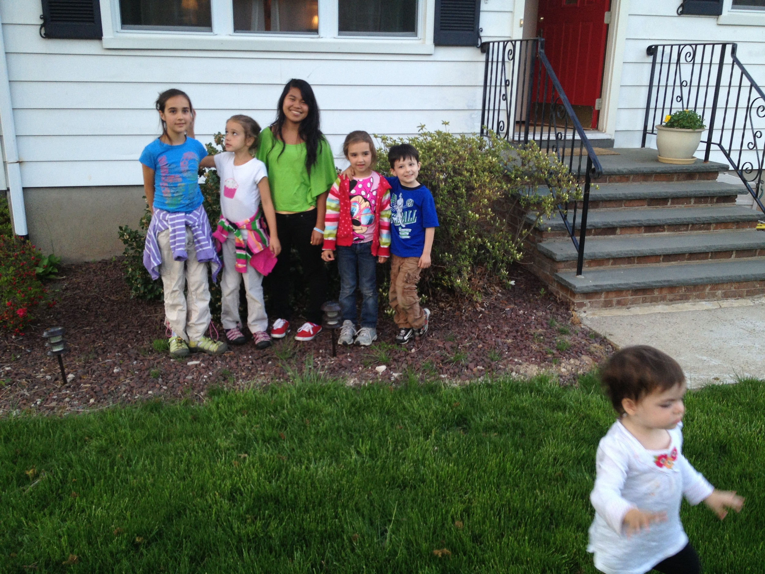All the kids (and one runaway).