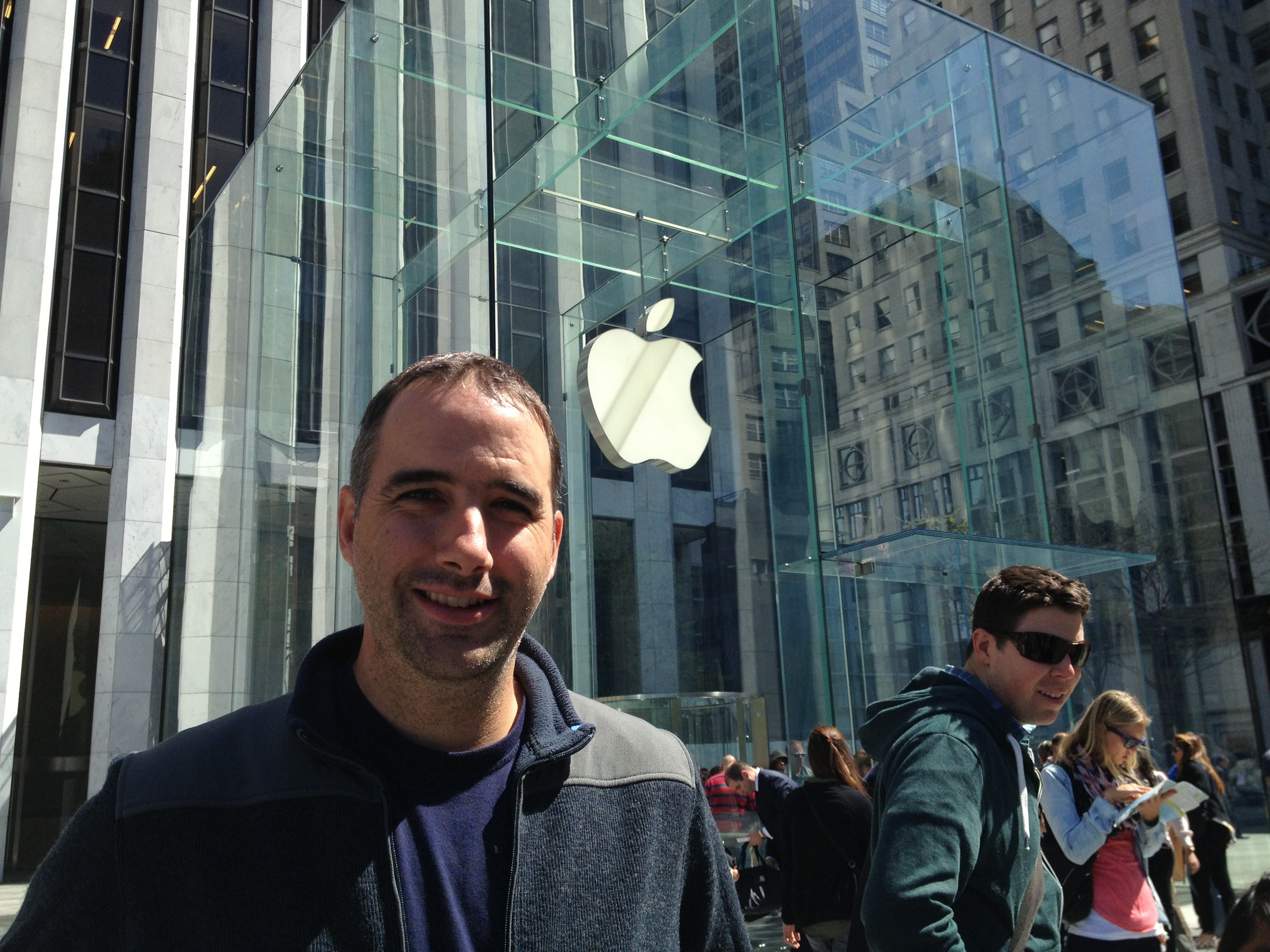Apple Store, woot!