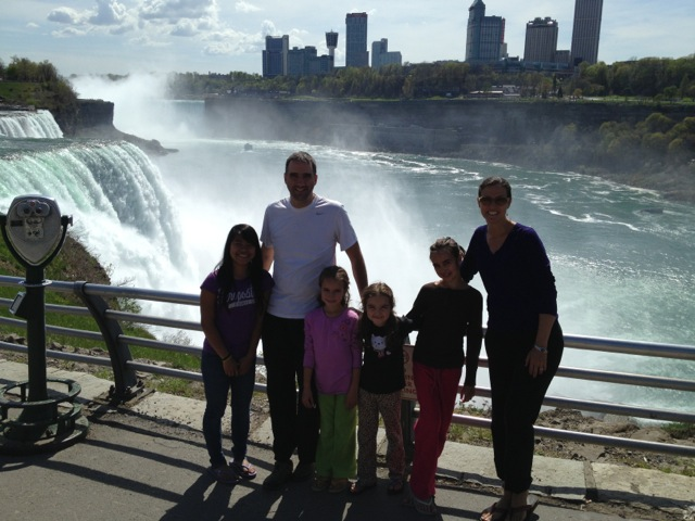 Niagara Falls--so huge!
