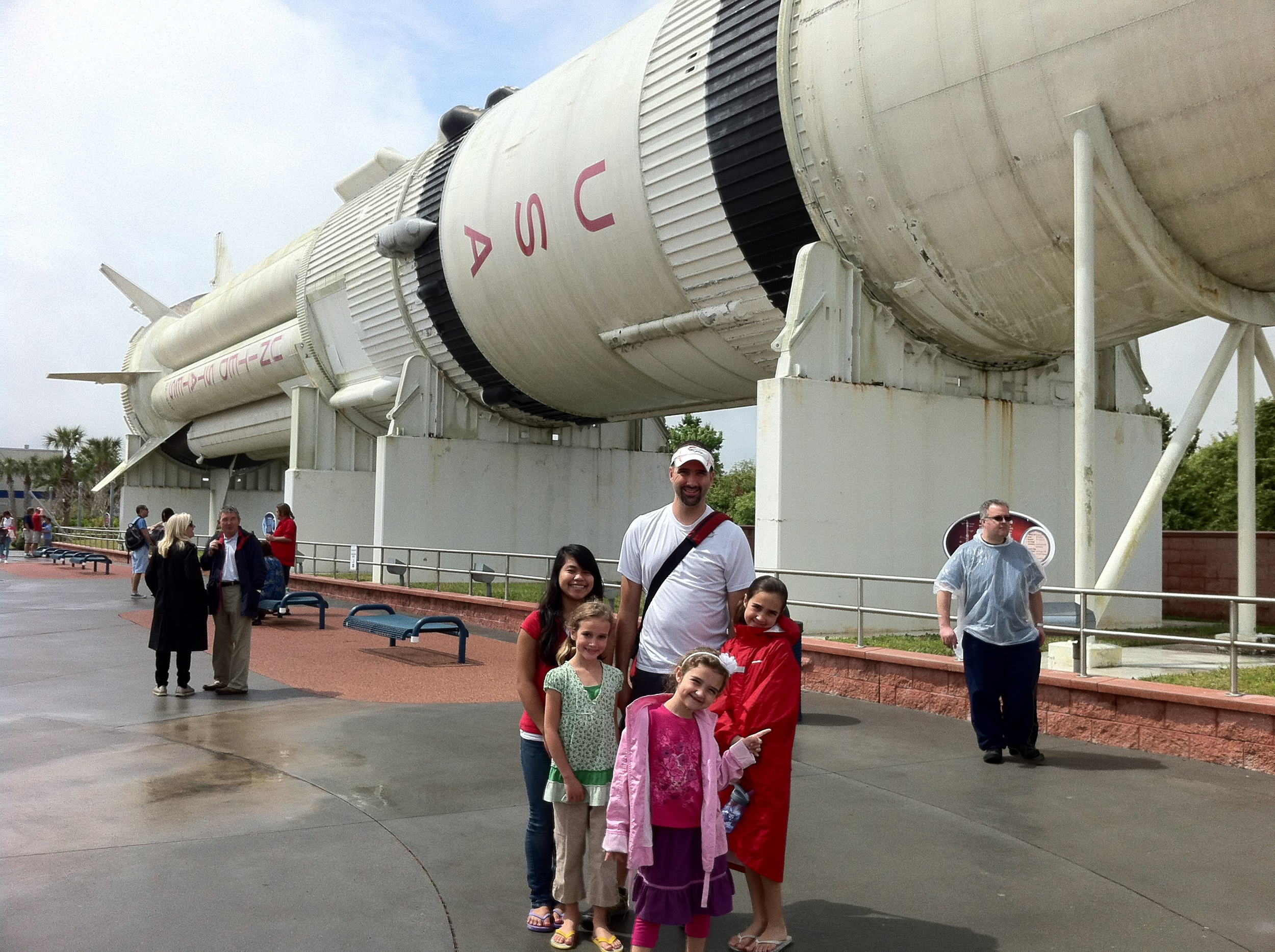 Lots of Rockets and the Space Center.