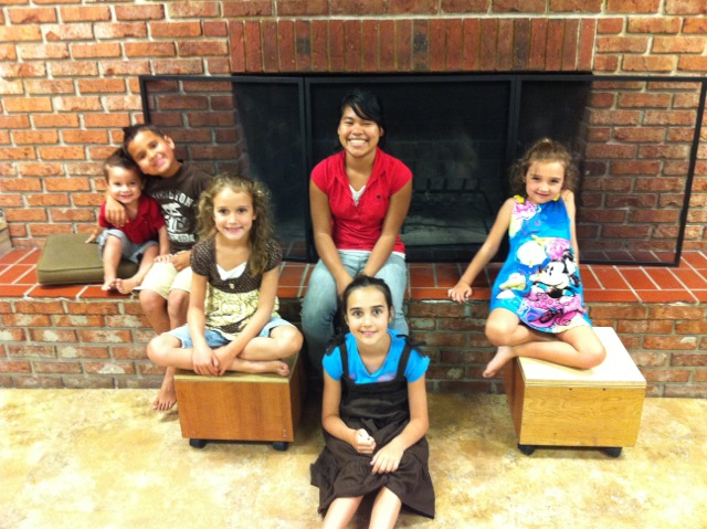 Torres kids and Oshman kids.