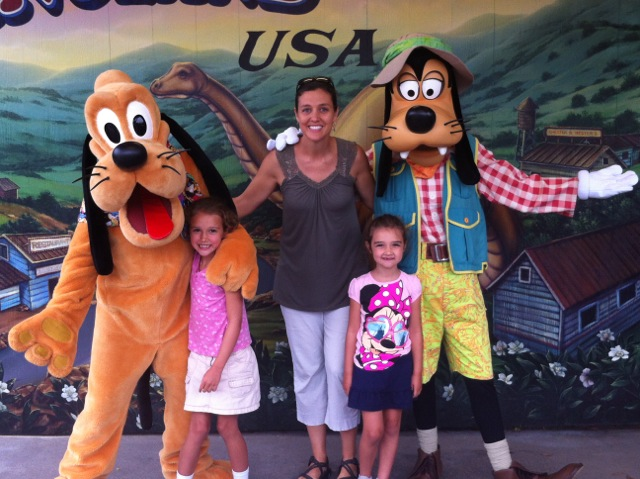 Everybody loves Goofy and Pluto.