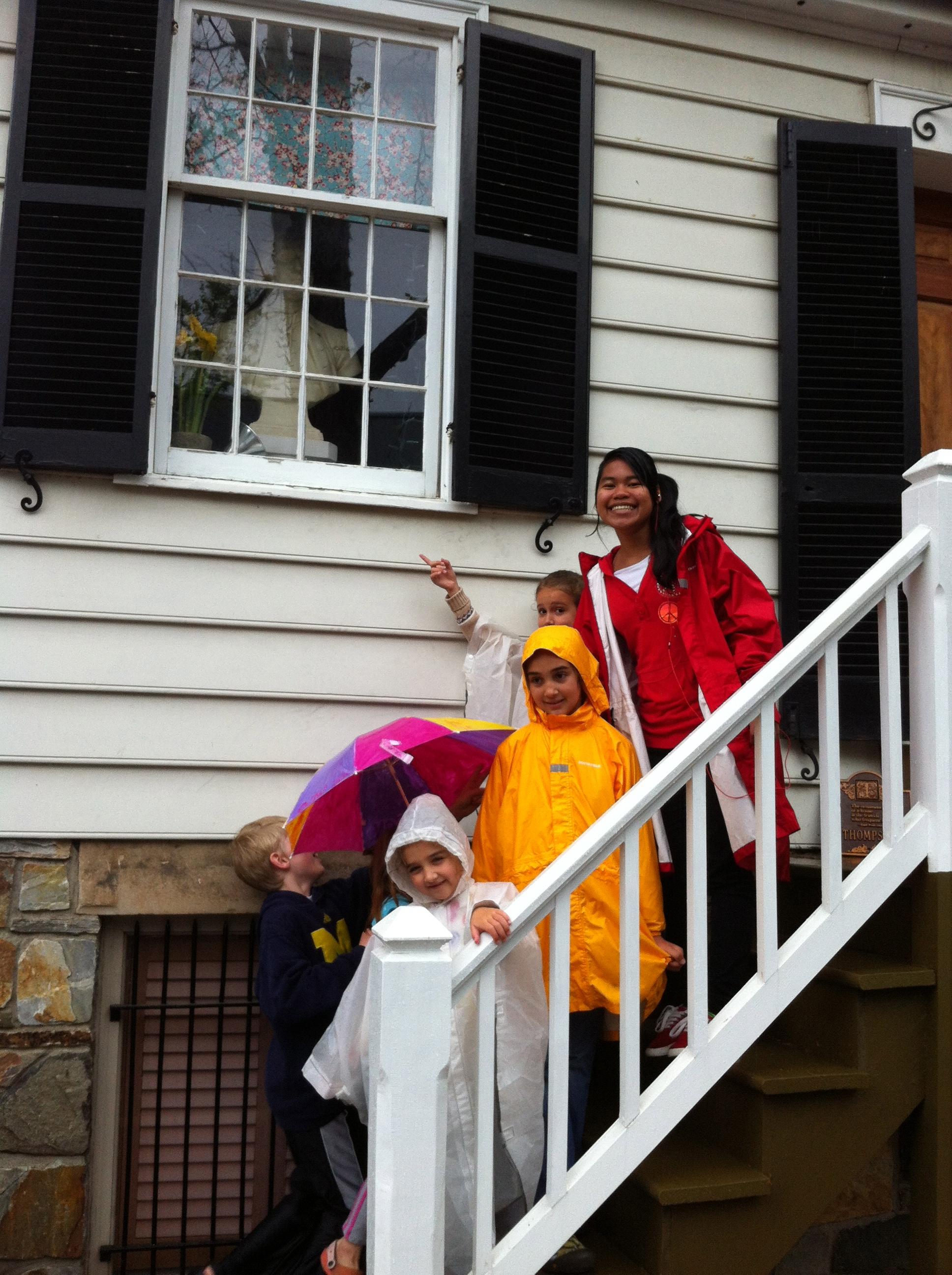 The Alexandria home of George Washington!