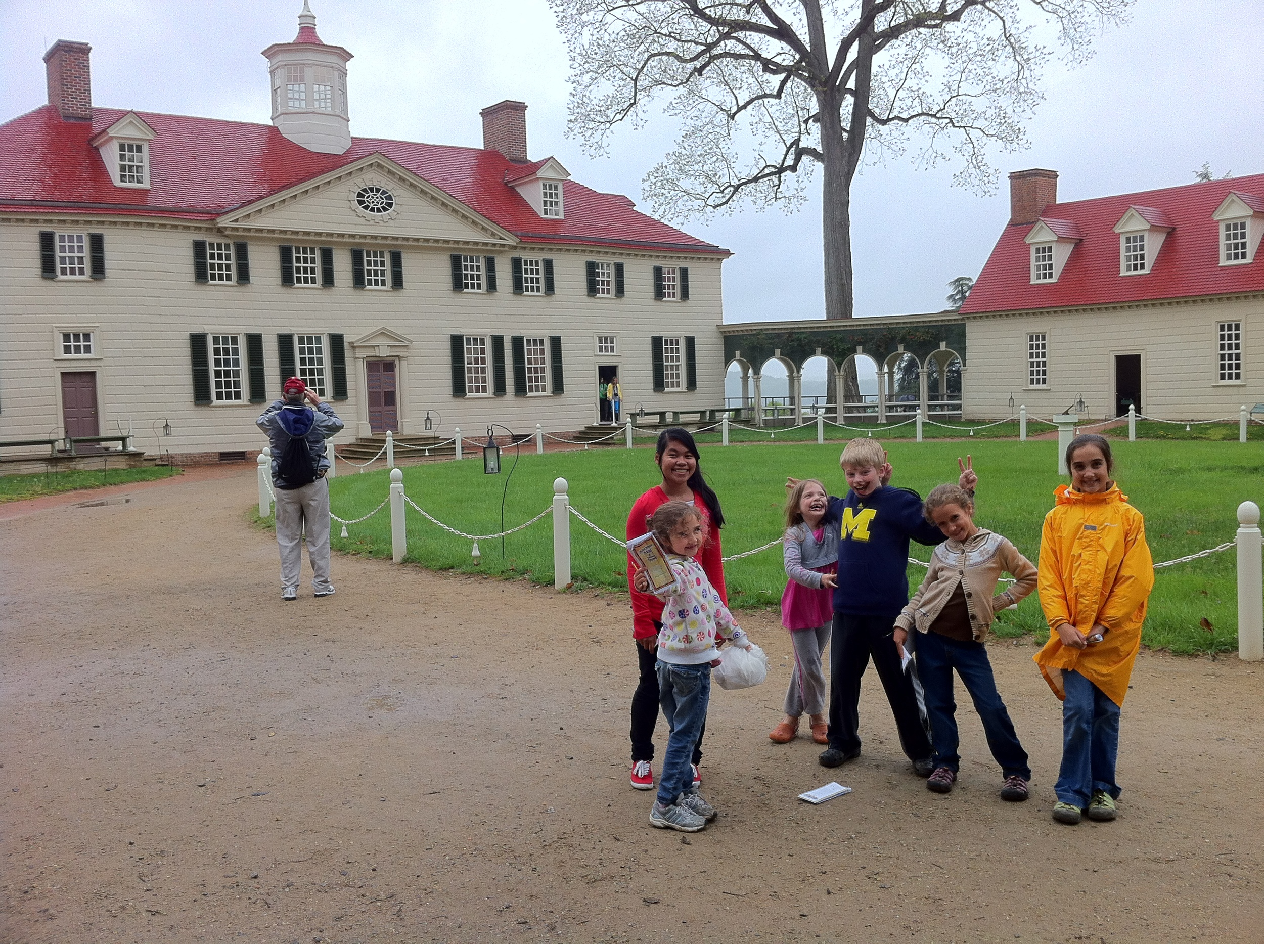 Mount Vernon with the Heplers and Singleys.