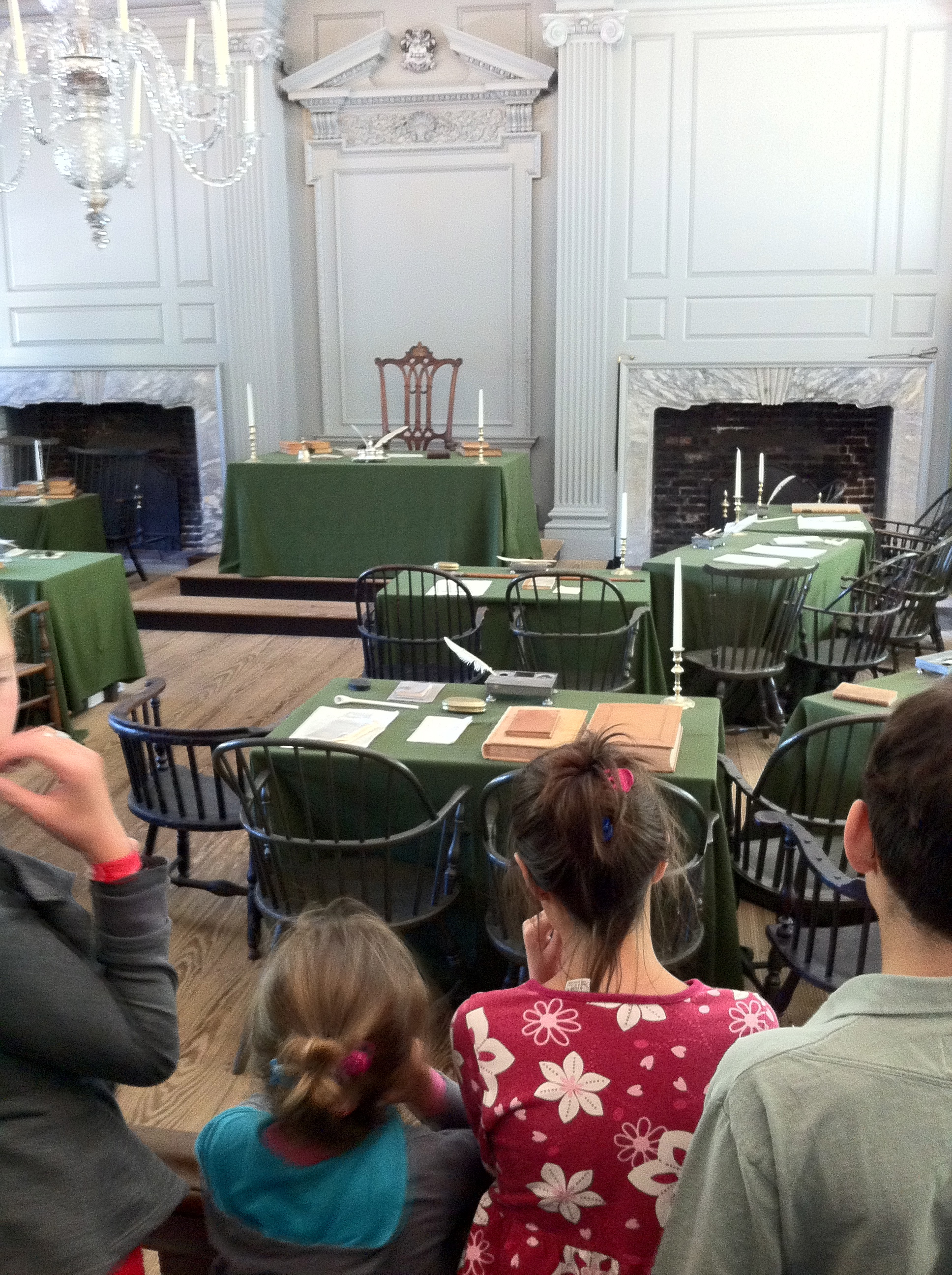 Where the Declaration of Independence was signed.