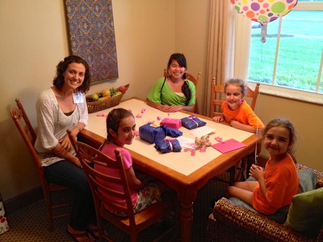 Hannah's 6th birthday at Pioneers.