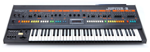 "Roland's Jupiter 8 was their flagship synthesizer upon its release in 1981.  It was used to program the arpeggio in Duran Duran's song ""Hungry Like the Wolf."""