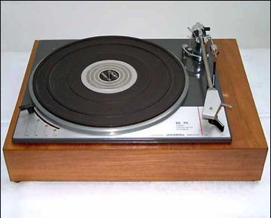 A 1970s era turntable.