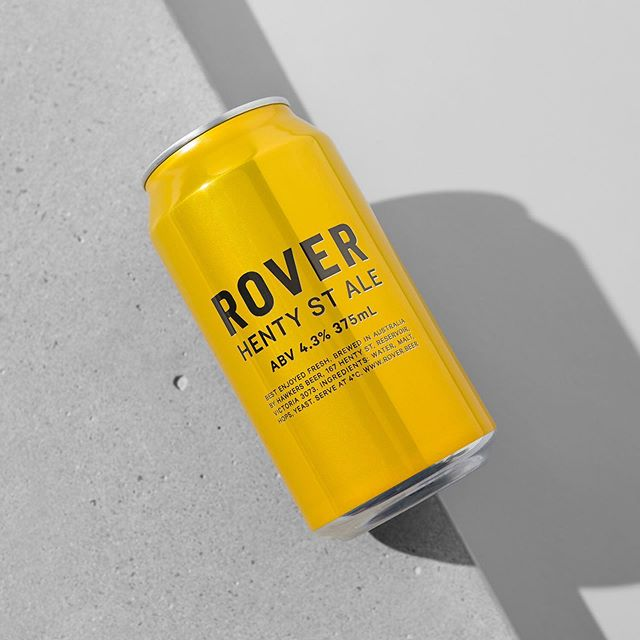 The temperature might have dropped, but this @hawkersbeer Rover Henty St Ale looks, and tastes, like sunshine. 📷 @foliolio