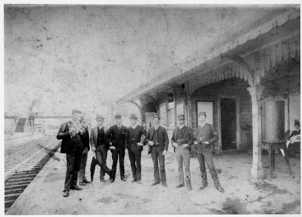 Dandenong Railway Station - 1890