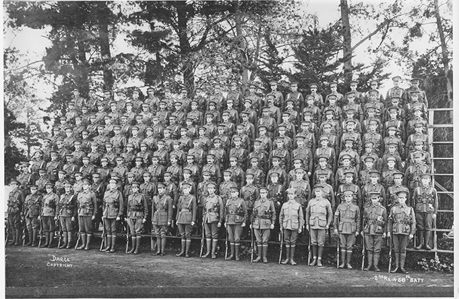 Army photo - Dandenong Contingent