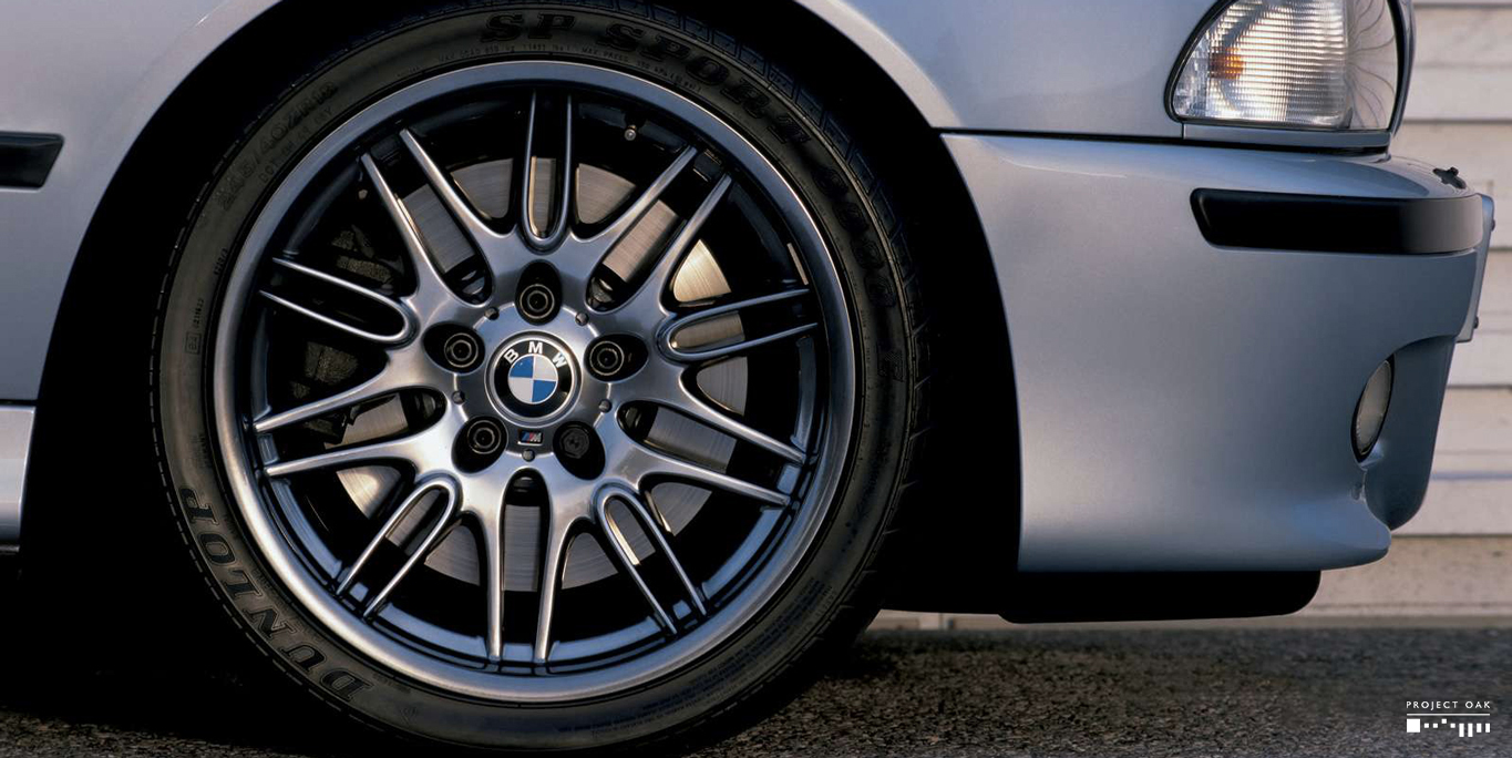 Original BMW press release photo. Darker Shadow Chrome. Picture courtesy of BMW GmbH®.