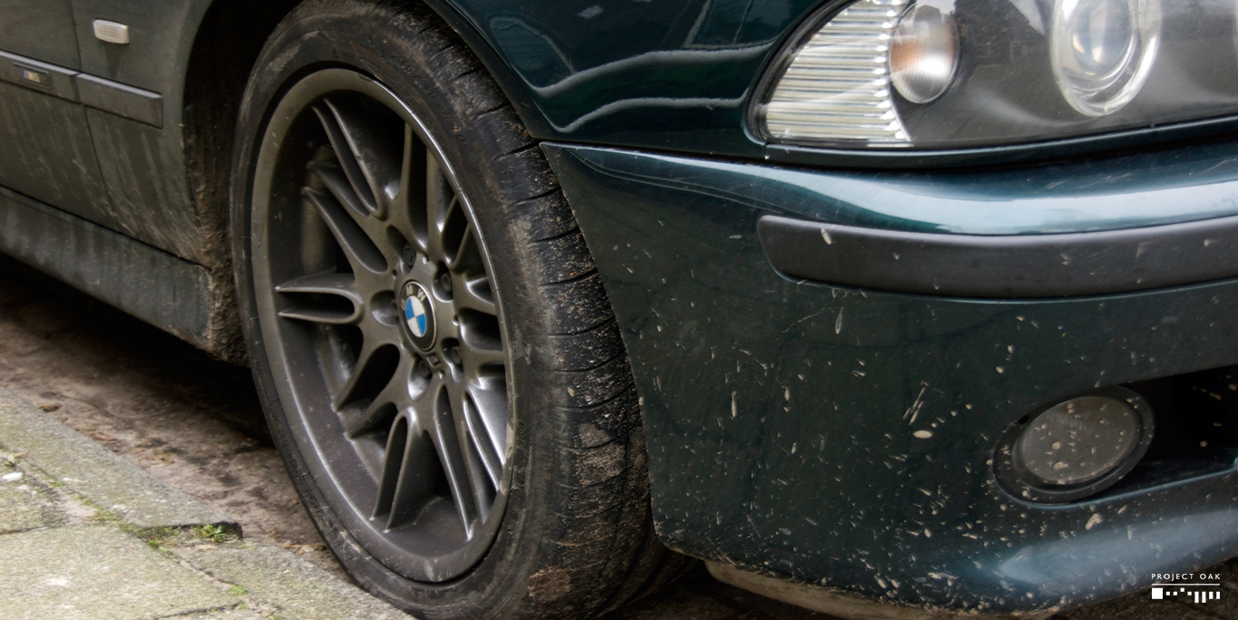 The arrival condition of this Oxford Green M5.