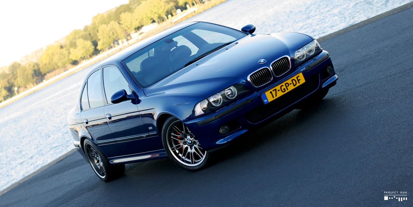 Hundreds of hours were spent perfecting this Le Mans Blue M5. Detailing without compromise.