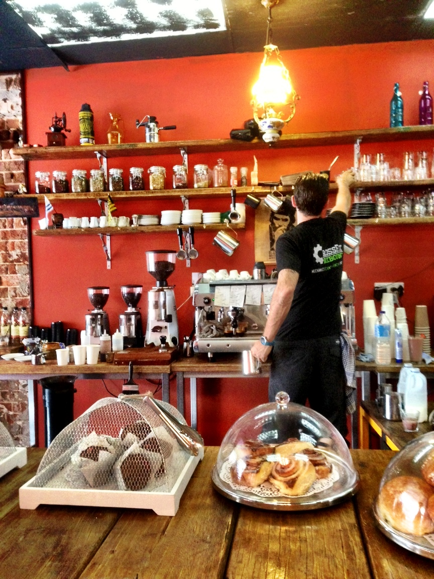 Our favourite cafe in Thirroul, The Espresso Bar.