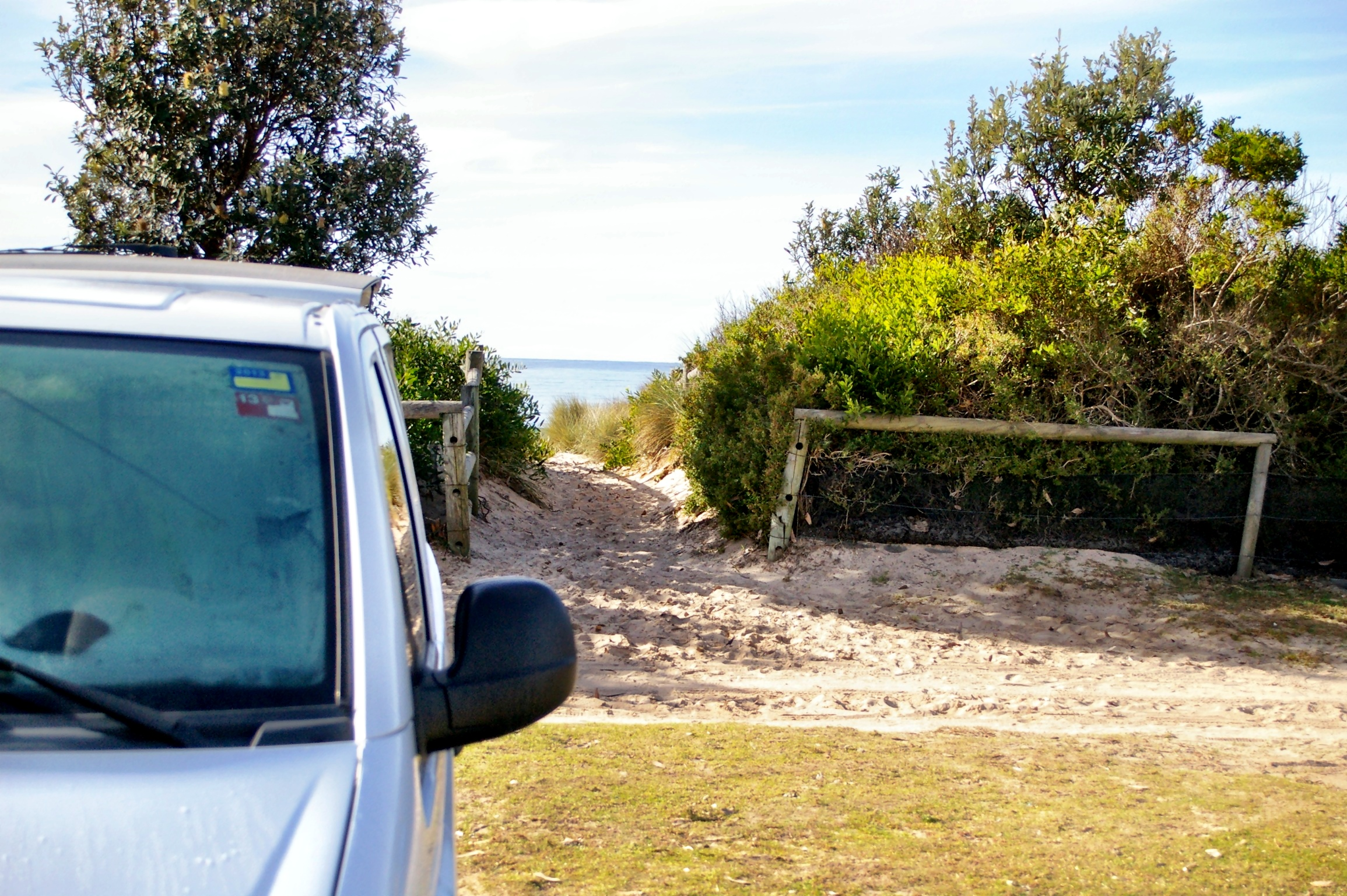 The beauty of VanLife... Beachfront!