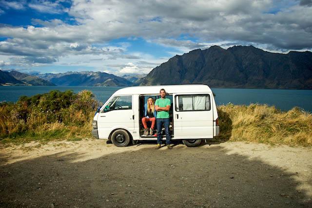 Lake Hawea, New Zealand.