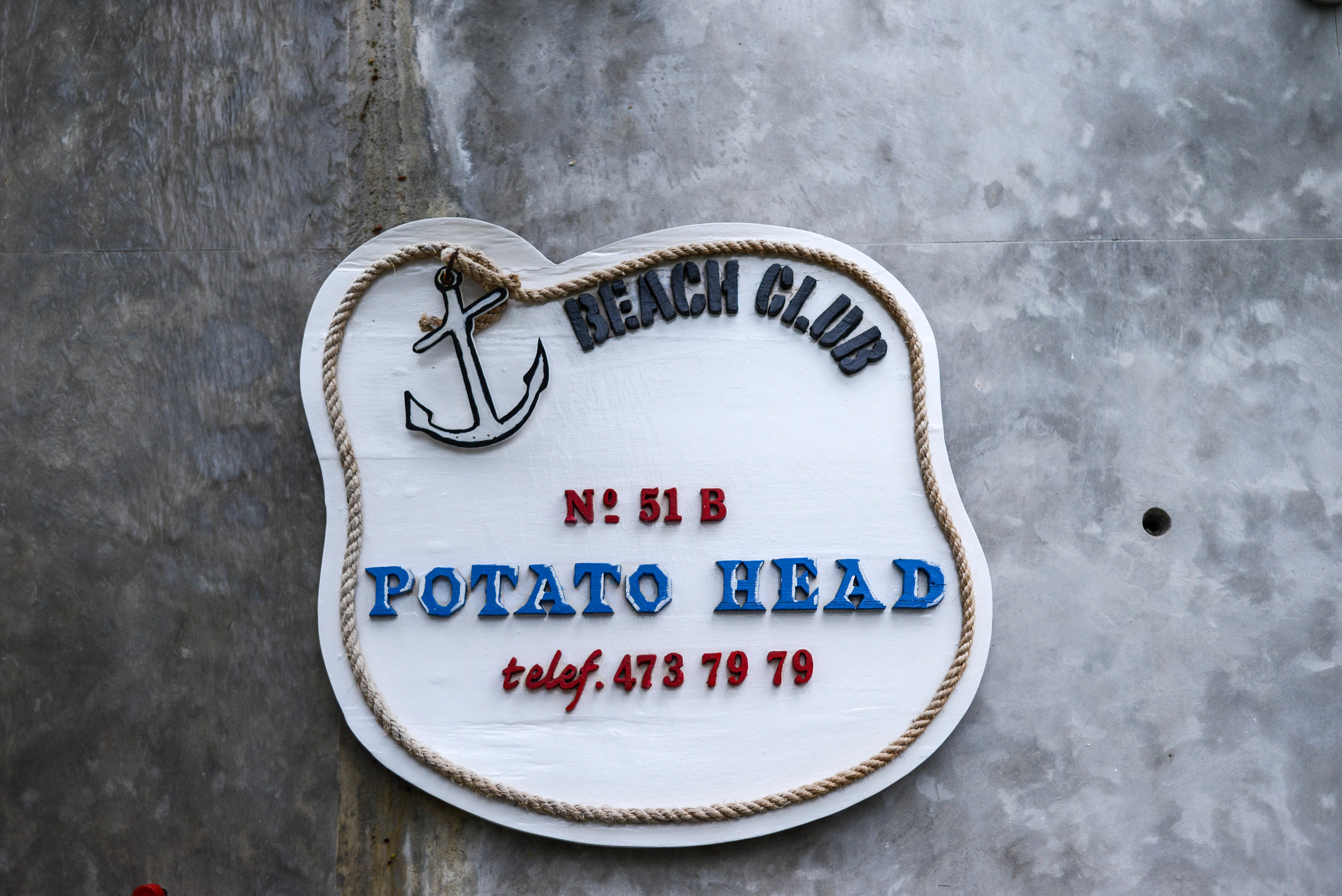 Dinner at the Potato Head in Seminyak.