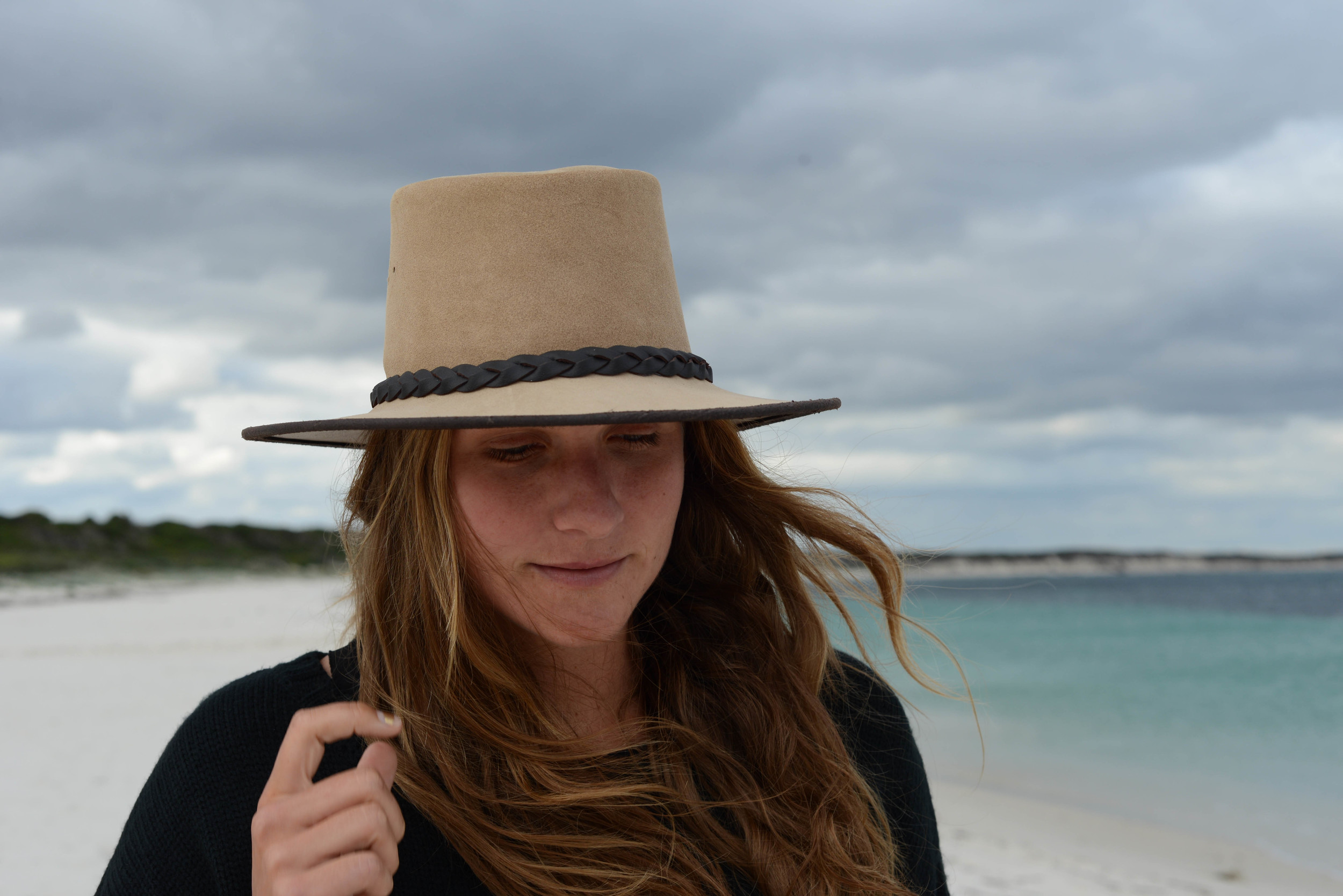 We have a habit of collecting hats on our road trips, no room to store them but we can't help ourselves, its a weakness.