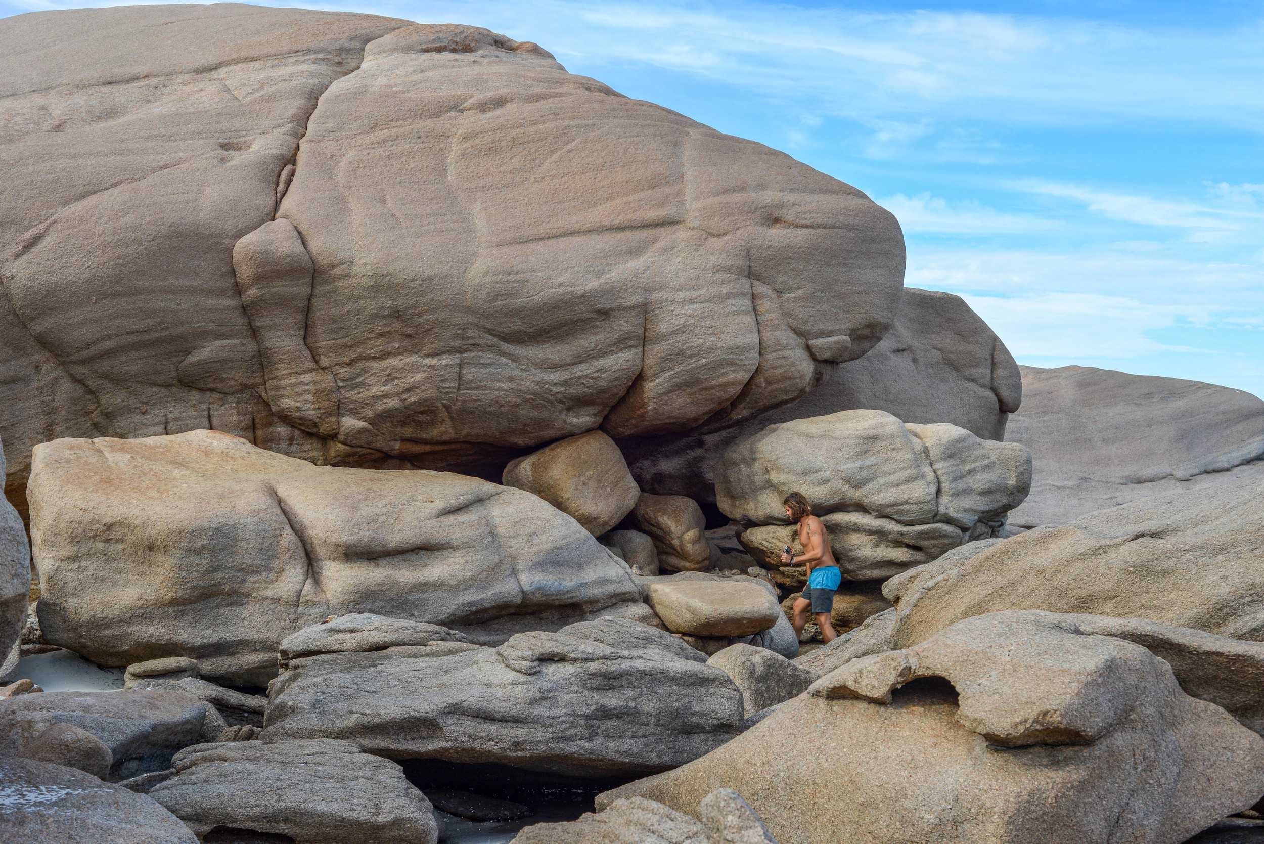 Exploring the coast of Esperance, Western Australia.