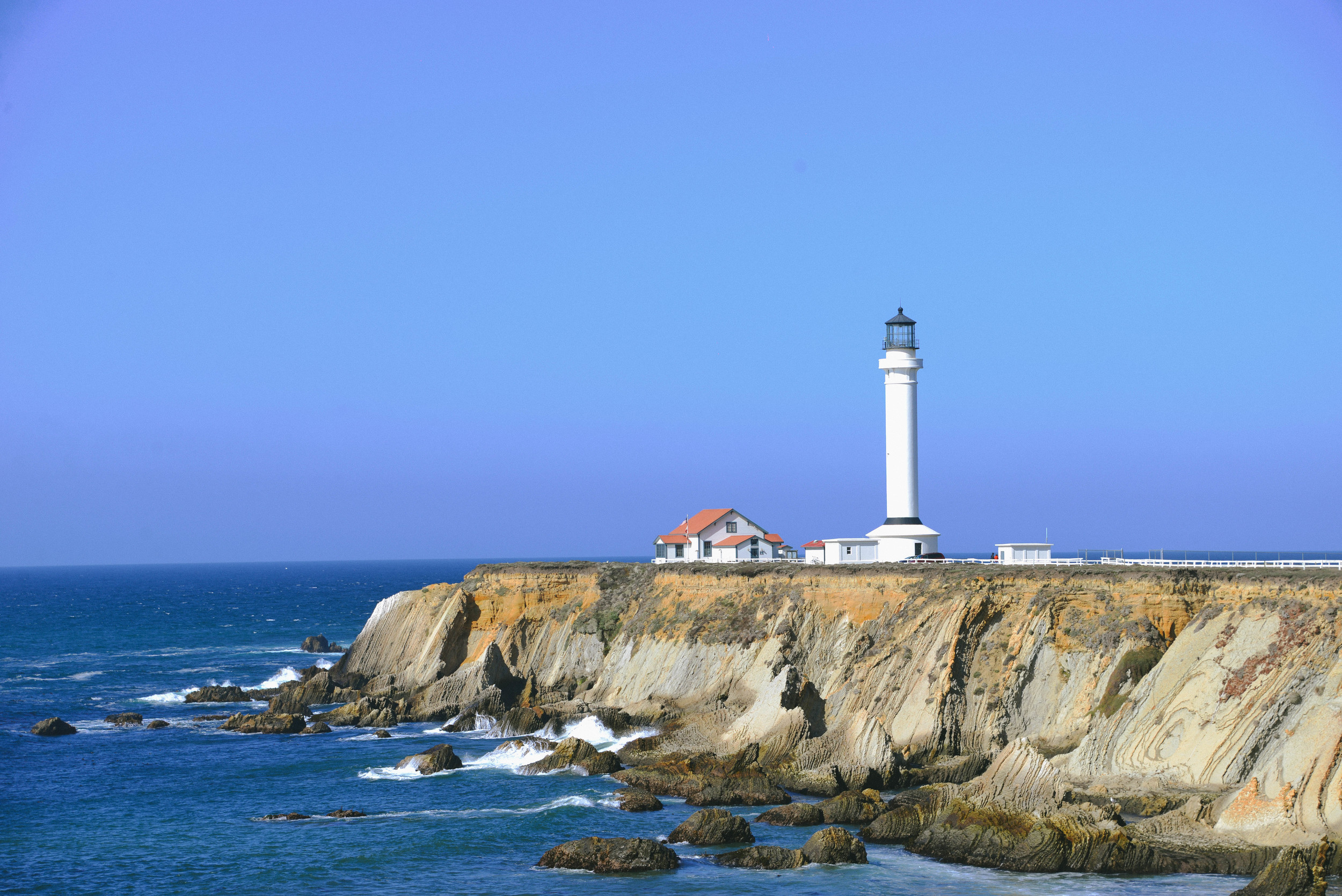 Lovely lighthouse on the Soma Coast.