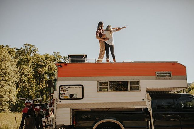 "New Vanlife article with @allinthebedofatruck we edited & published for @vanlifediaries LINK IN PROFILE to find out how Jimmy & Hannah & their pups have hit the road in a truck exploring America & Canada "" It is not conventional and it's most definitely not always easy, but living this lifestyle together is the best marriage boot camp. We have to learn to work together, communicate better, and resolve disagreements fast to make this adventure work. We have learned how to literally not step on each other's toes everyday and how to help each other with basic tasks."" #vanlifediaries to share insights from your life in the road"