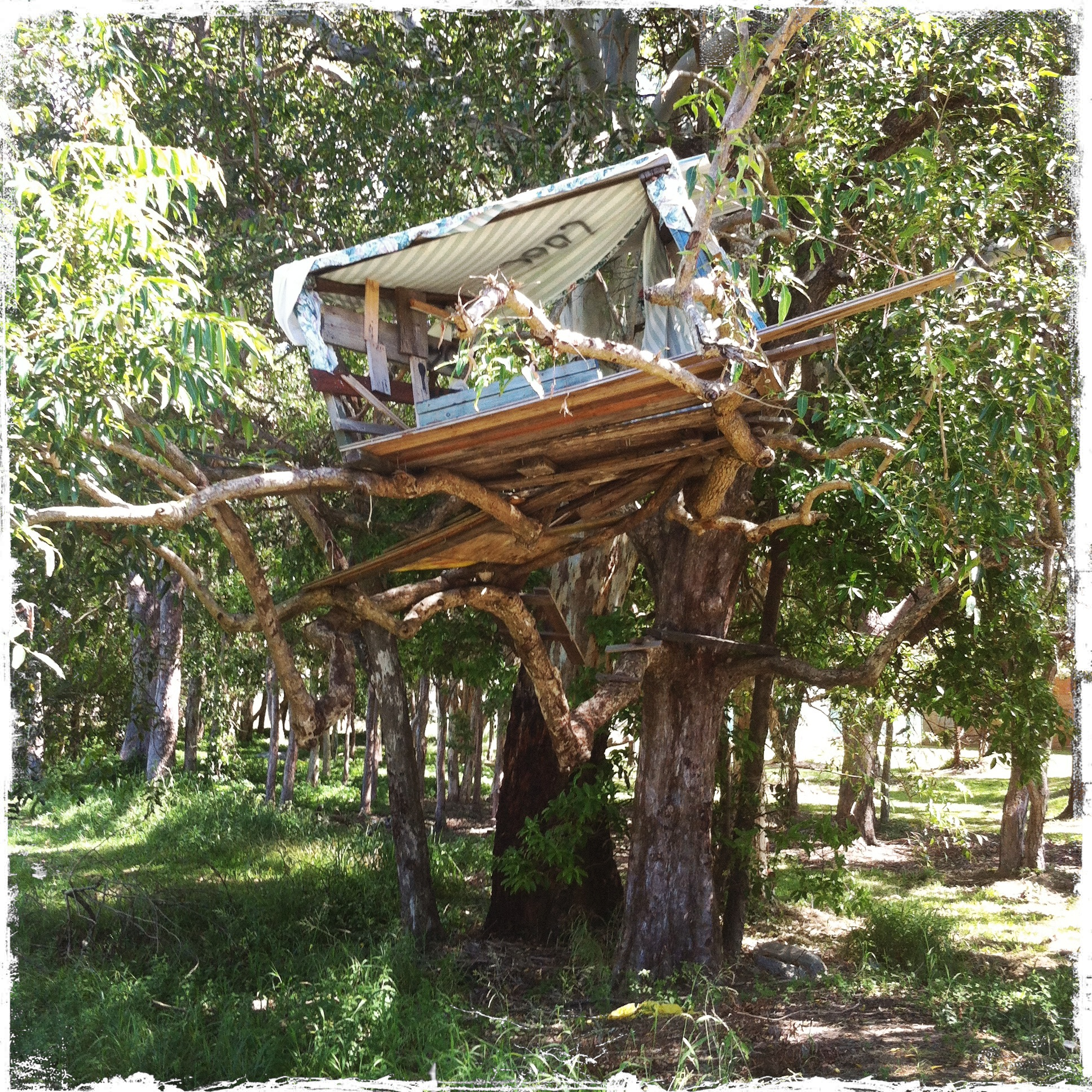 Treehouse cubbyhouse