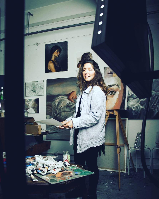 In the studio, Brixton, London. Nov 2016