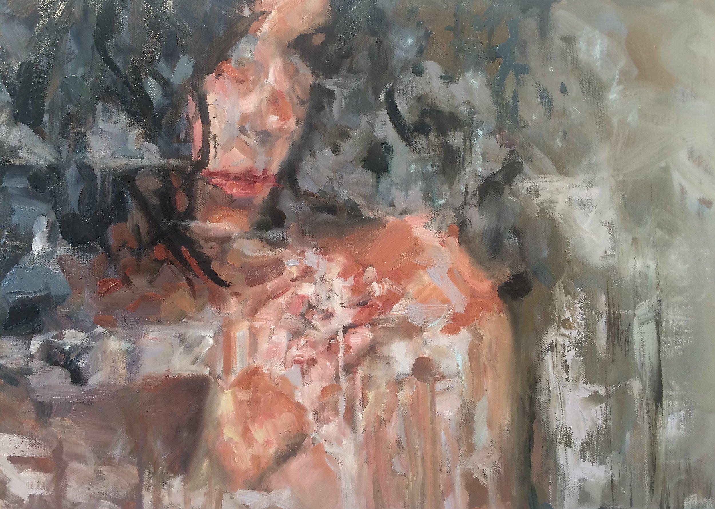 """Sylvia, 18 x 24"""" oil on canvas"""