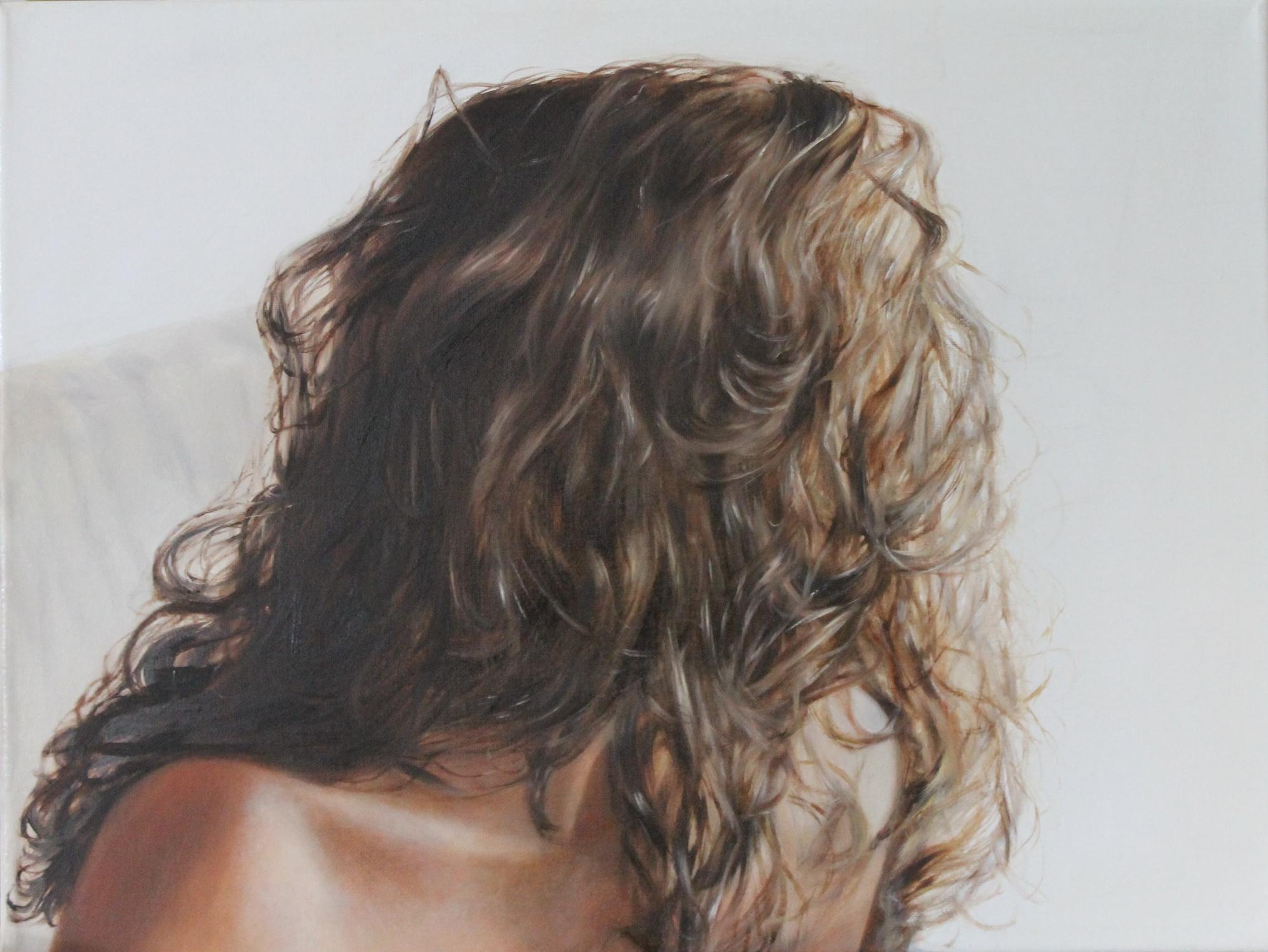 Self portrait 2013, 40 x 30cm, oil on canvas