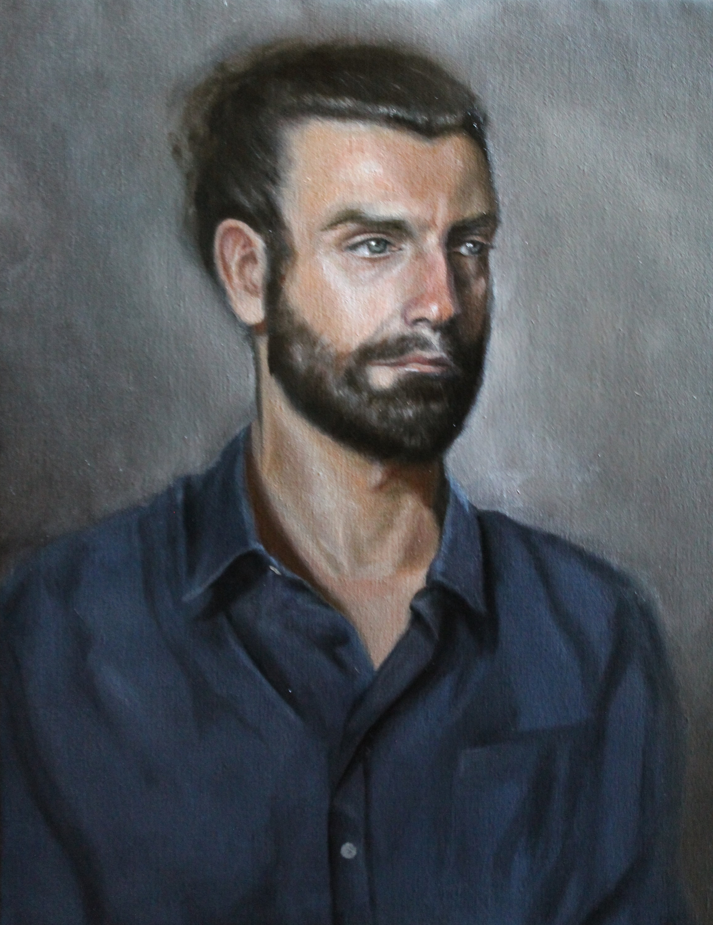 Enrico, 50 x 60cm oil on canvas