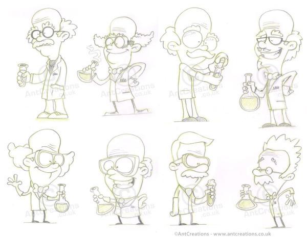 AntCreationsScientistSketches.jpg