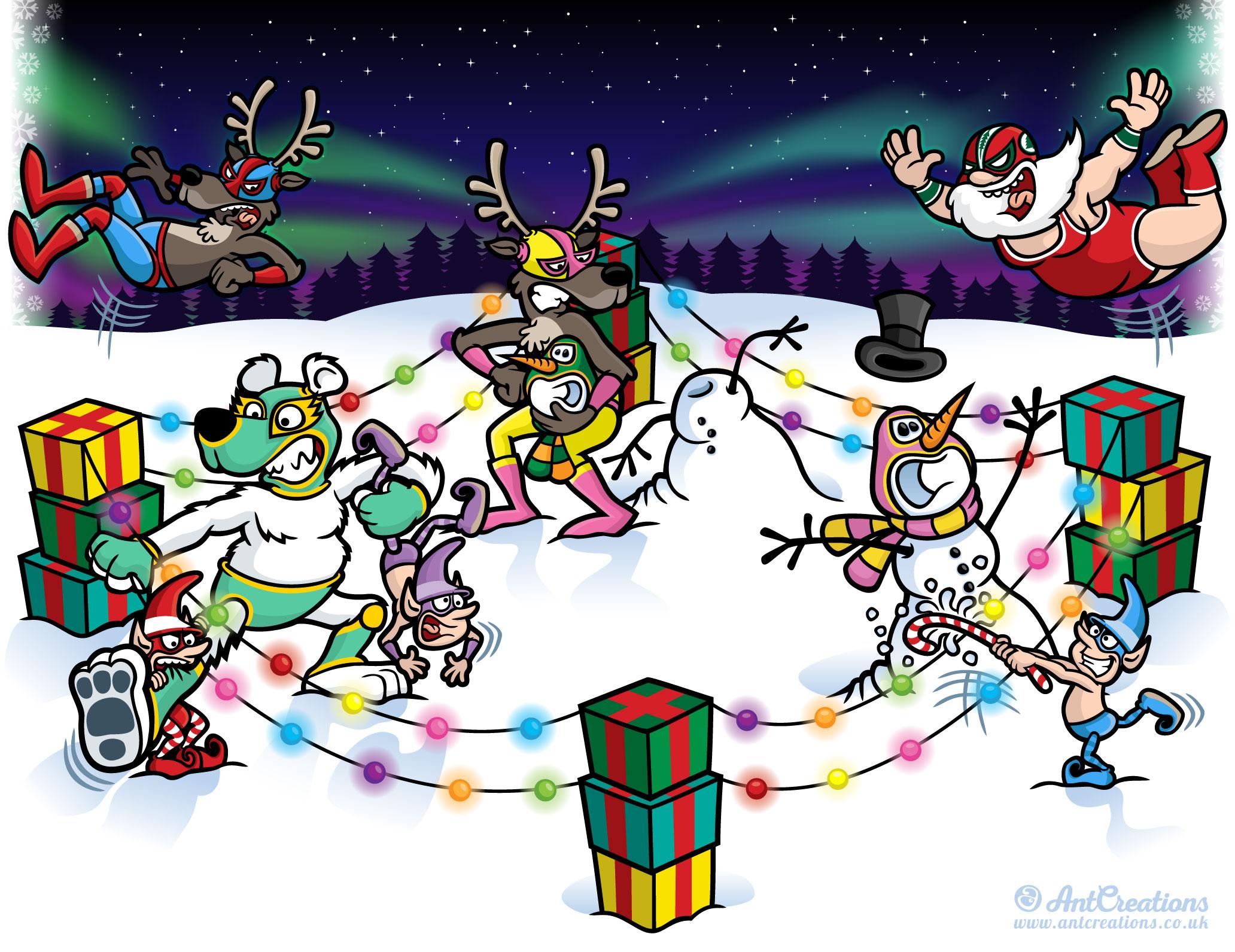 AntCreations-ChristmasLuchadorWrestle.jpg