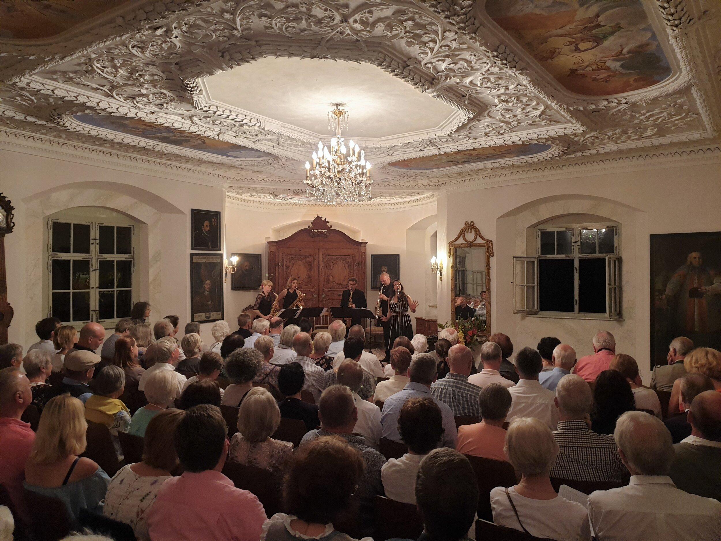 Konzert SAXOFOURTE am 31. August