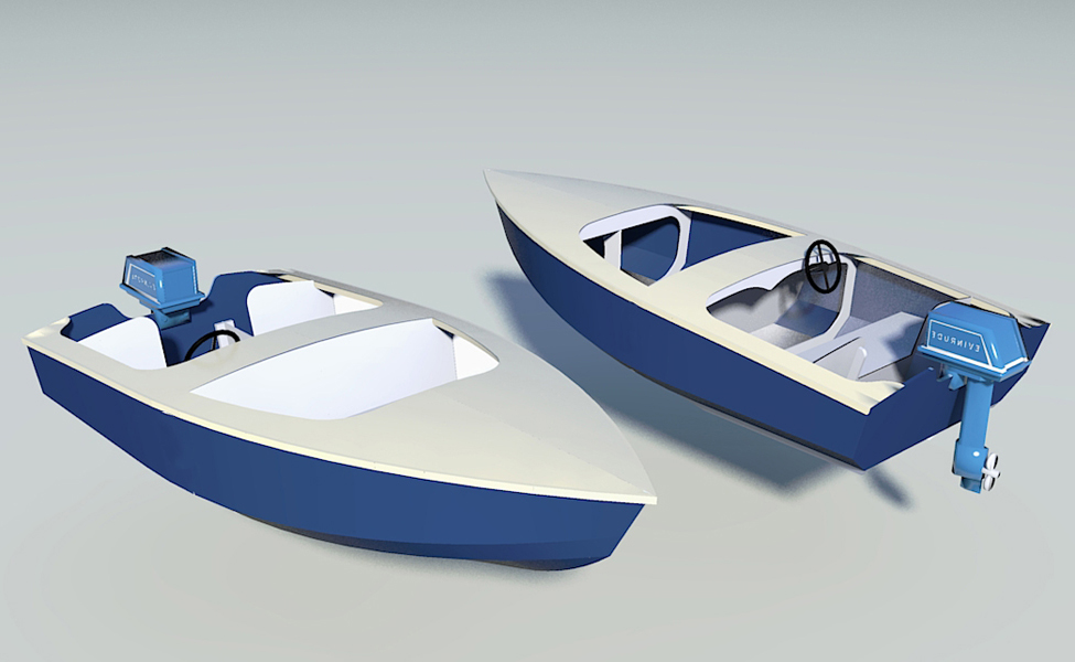 "Mia  12' x 5' 4"" Runabout"