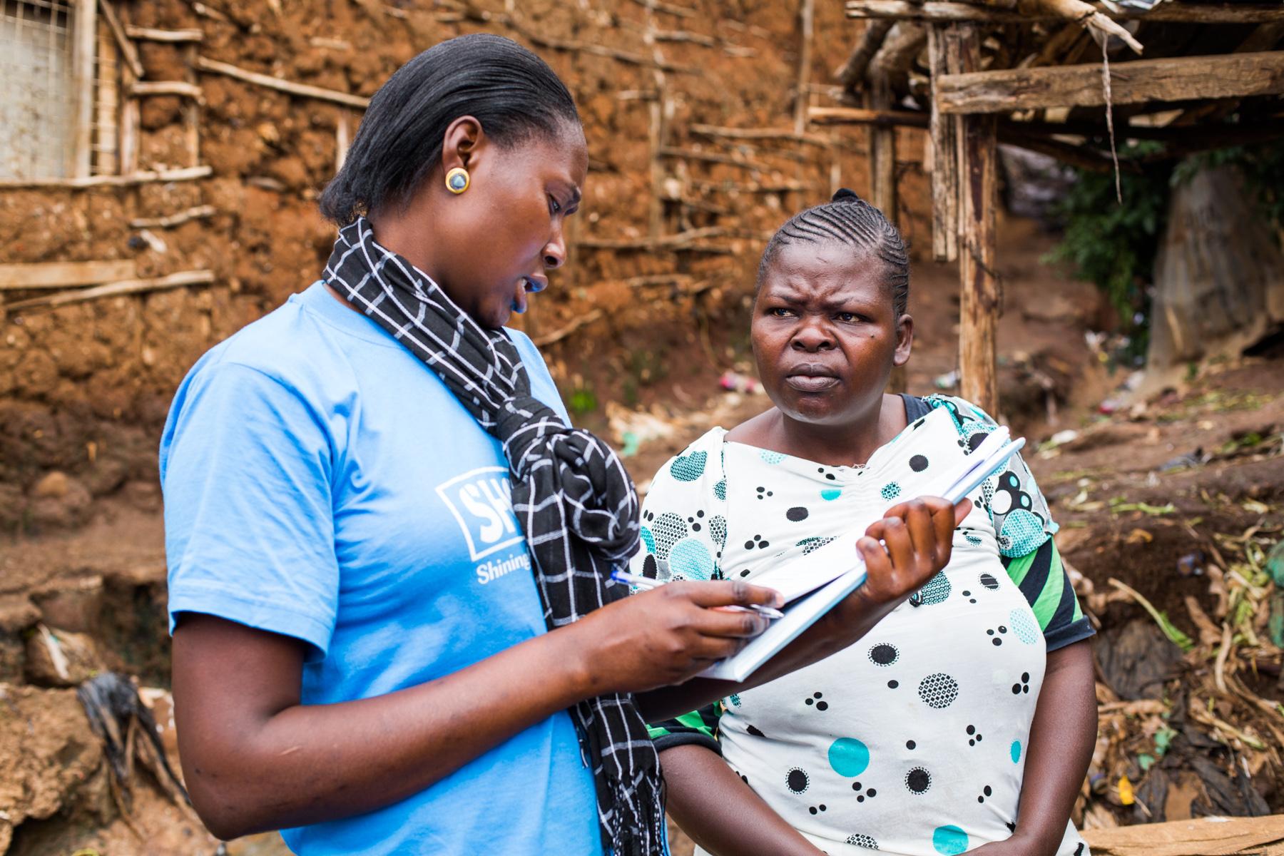 SHOFCO community survey  Kibera, Nairobi, Kenya