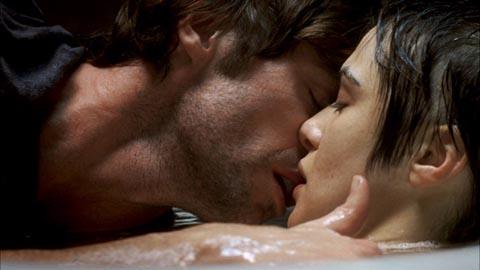 Really kissing...