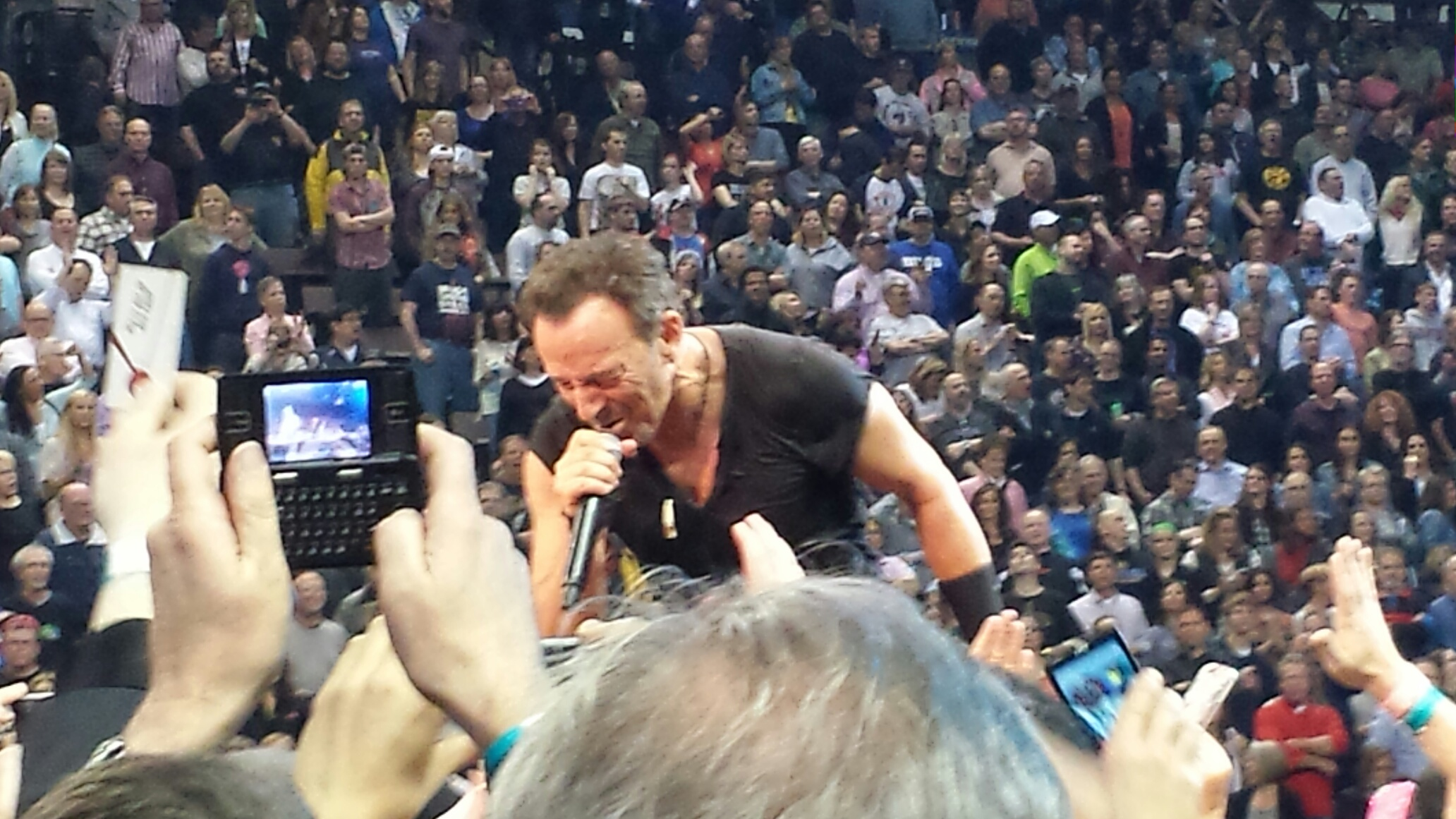 This is how close we were to Bruce on Tuesday. (photo by Jodie)
