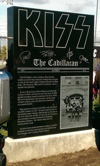 The Kiss Cadillac Monument