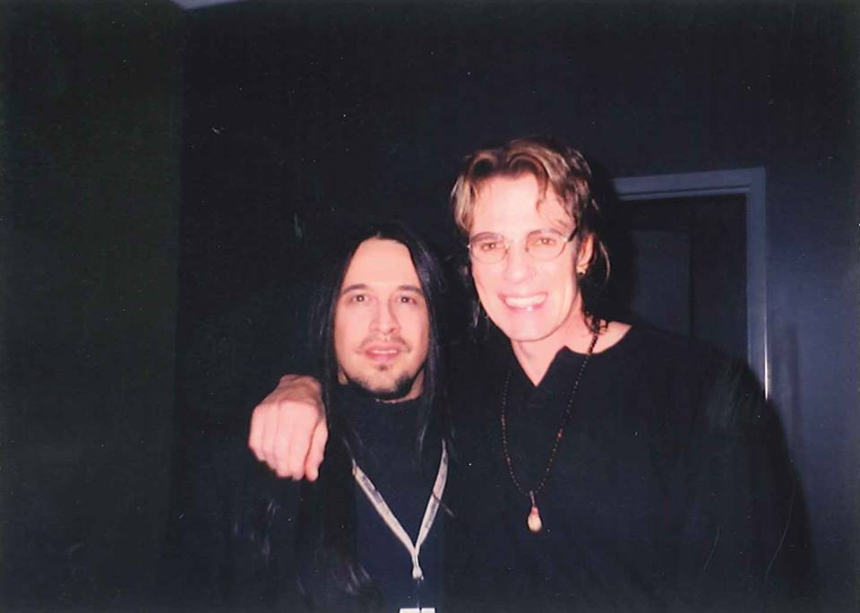 Angelo and Rick Springfield