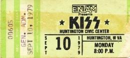 1979 ticket stub