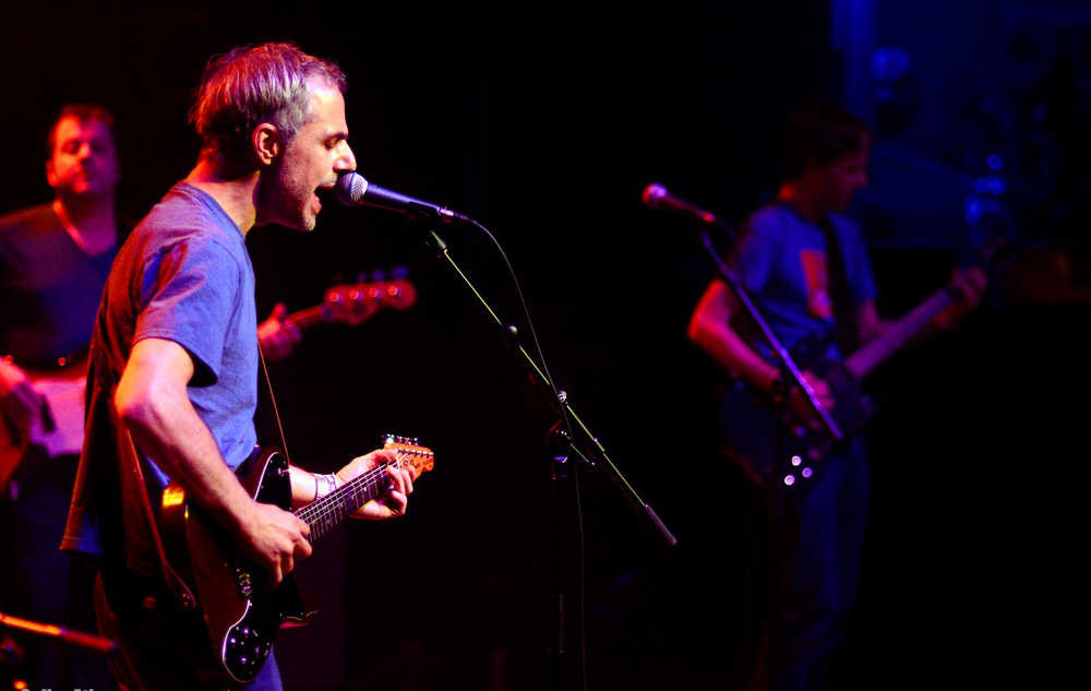 Ross Shapiro of The Glands (photo credit: Athens Banner Herald Online)